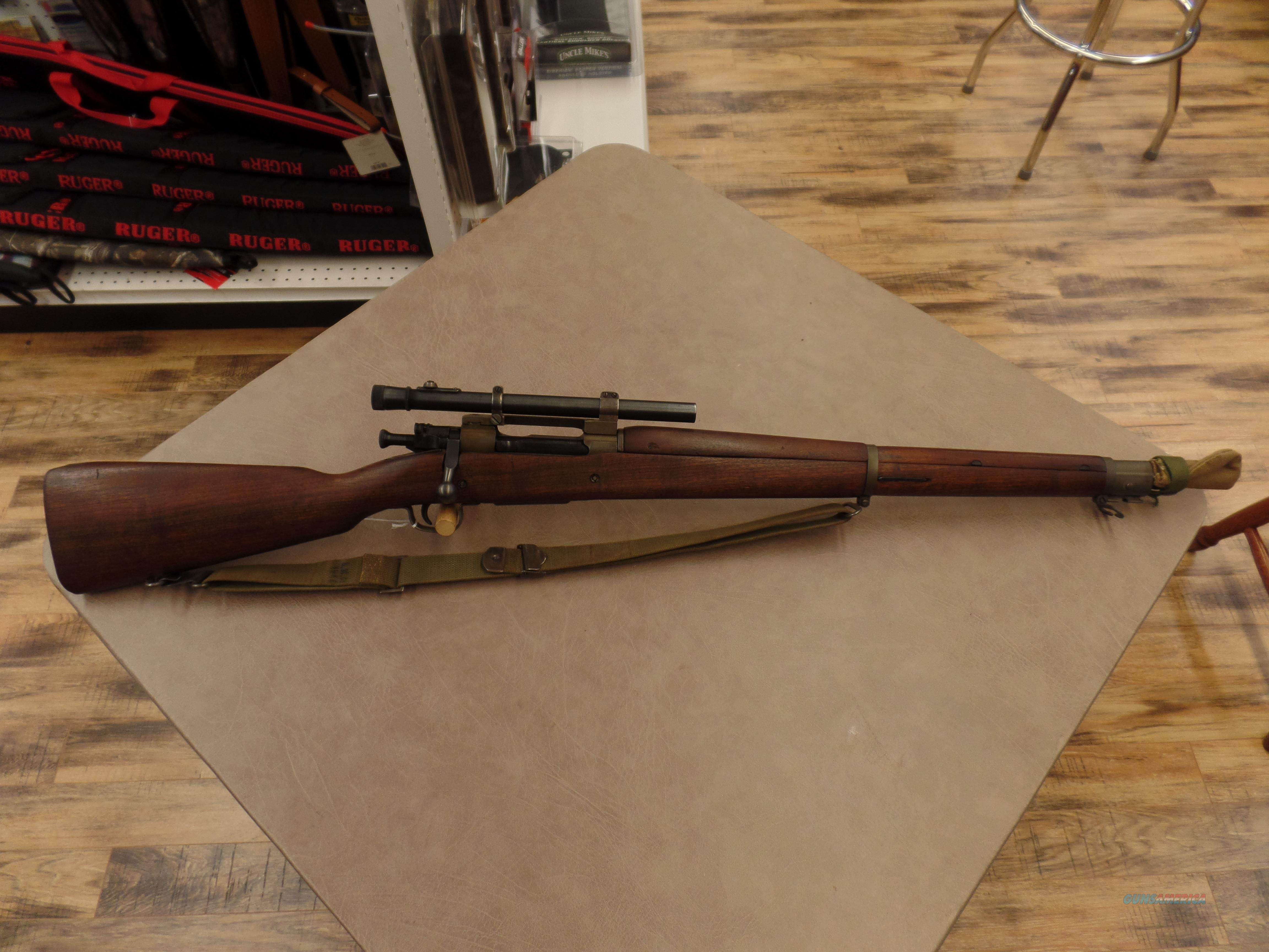WWII Remington 1903-A4 Sniper   Guns > Rifles > Remington Rifles - Modern > Bolt Action Non-Model 700 > Tactical