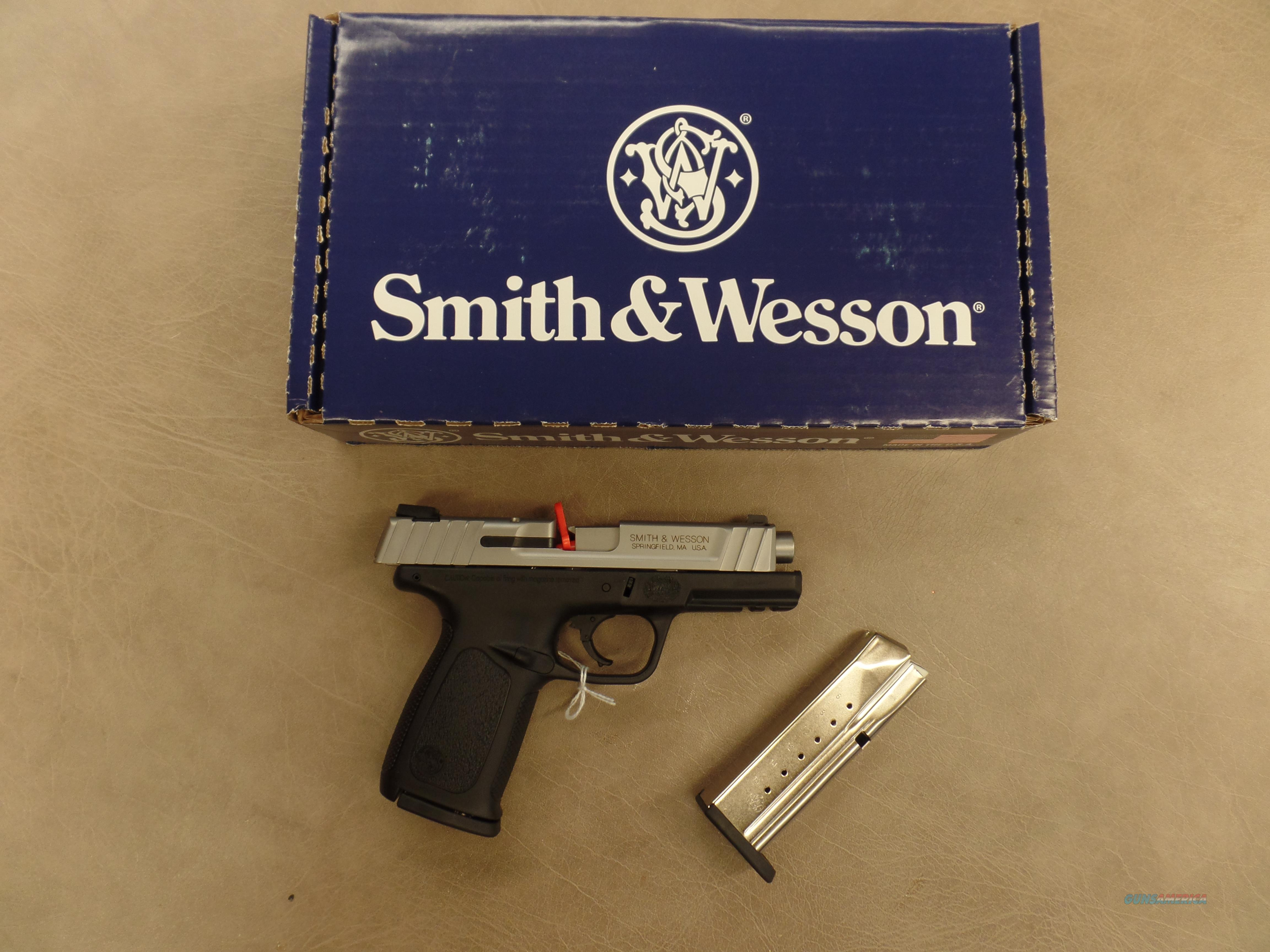 Smith & Wesson SD9VE  Guns > Pistols > Smith & Wesson Pistols - Autos > Polymer Frame