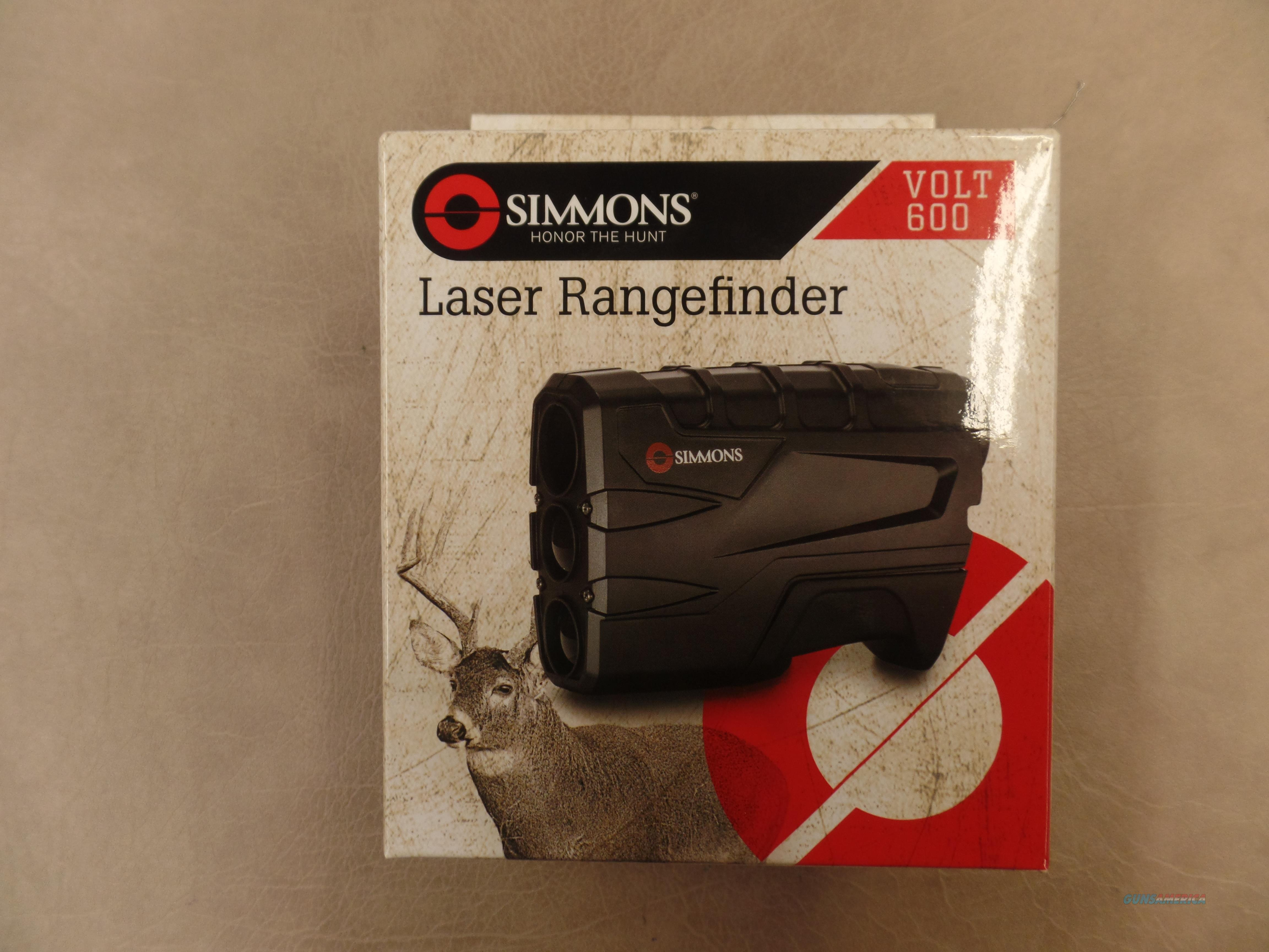 Simmons Volt 600 Laser Rangefinder  Non-Guns > Scopes/Mounts/Rings & Optics > Non-Scope Optics > Rangefinders