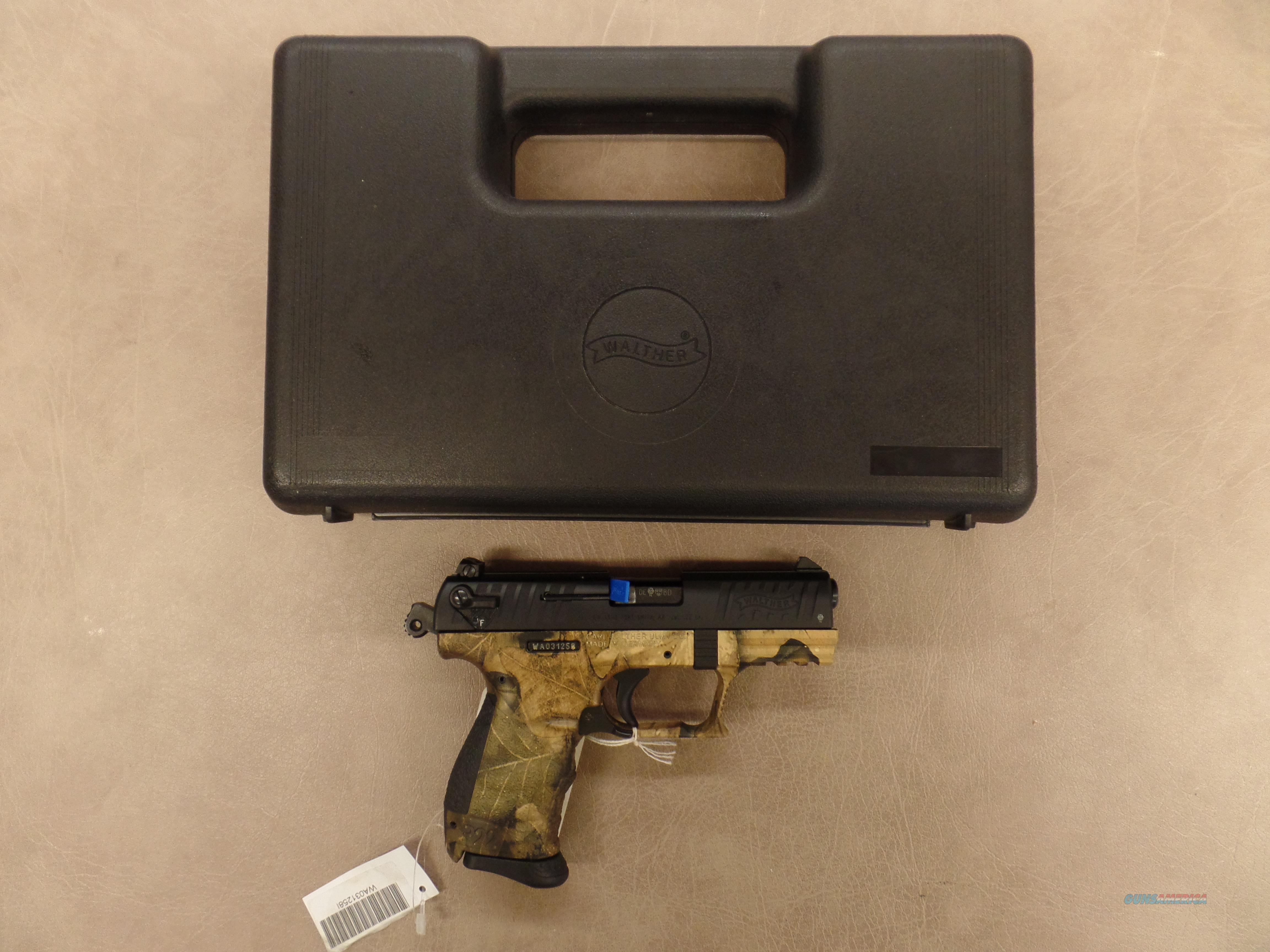 Walther P-22 Cammo  Guns > Pistols > Walther Pistols > Post WWII > P22