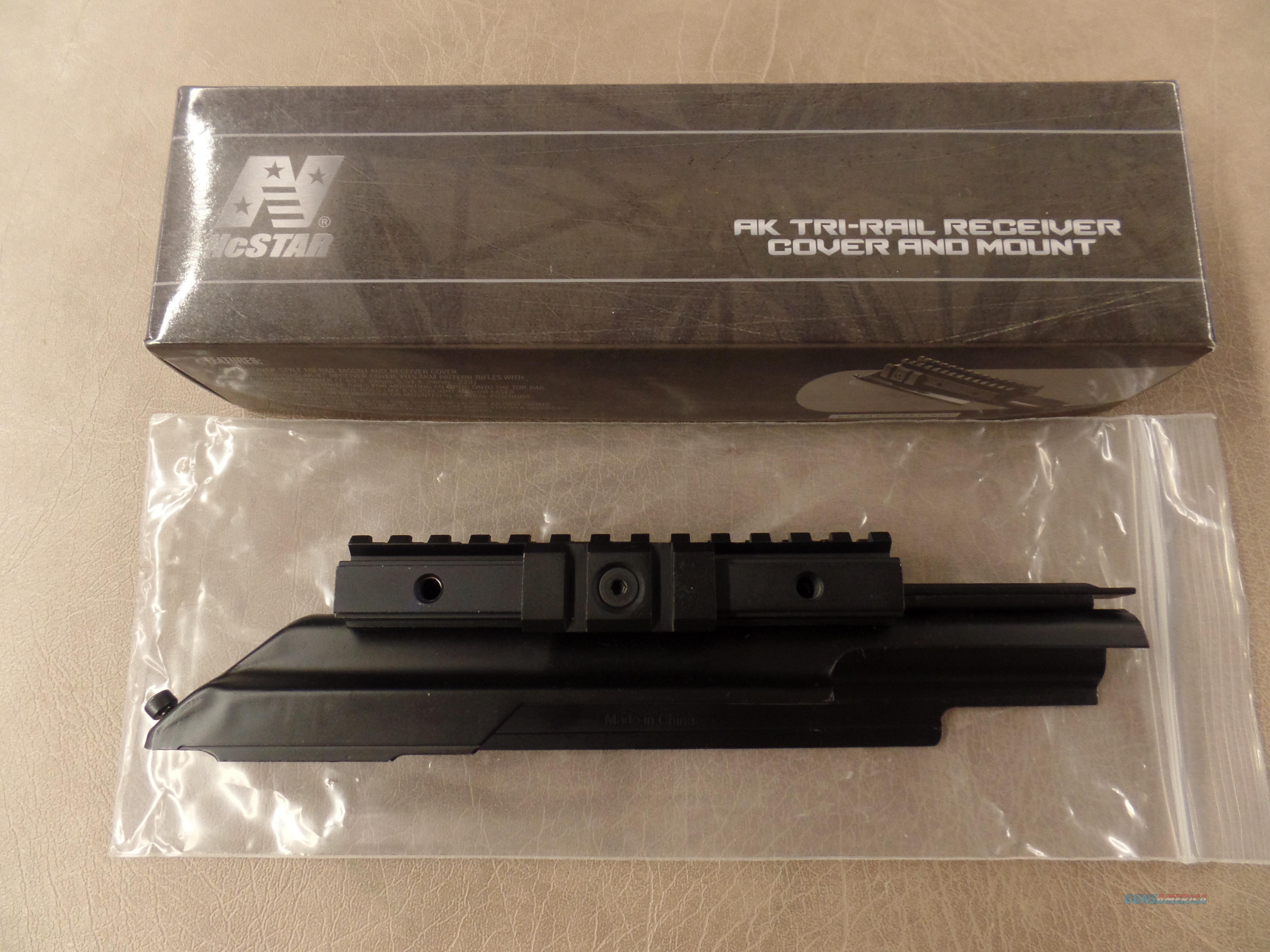 NcStar AK Tri-Rail Receiver Cover And Mount Model # MTAK  Non-Guns > Scopes/Mounts/Rings & Optics > Mounts > Tactical Rail Mounted