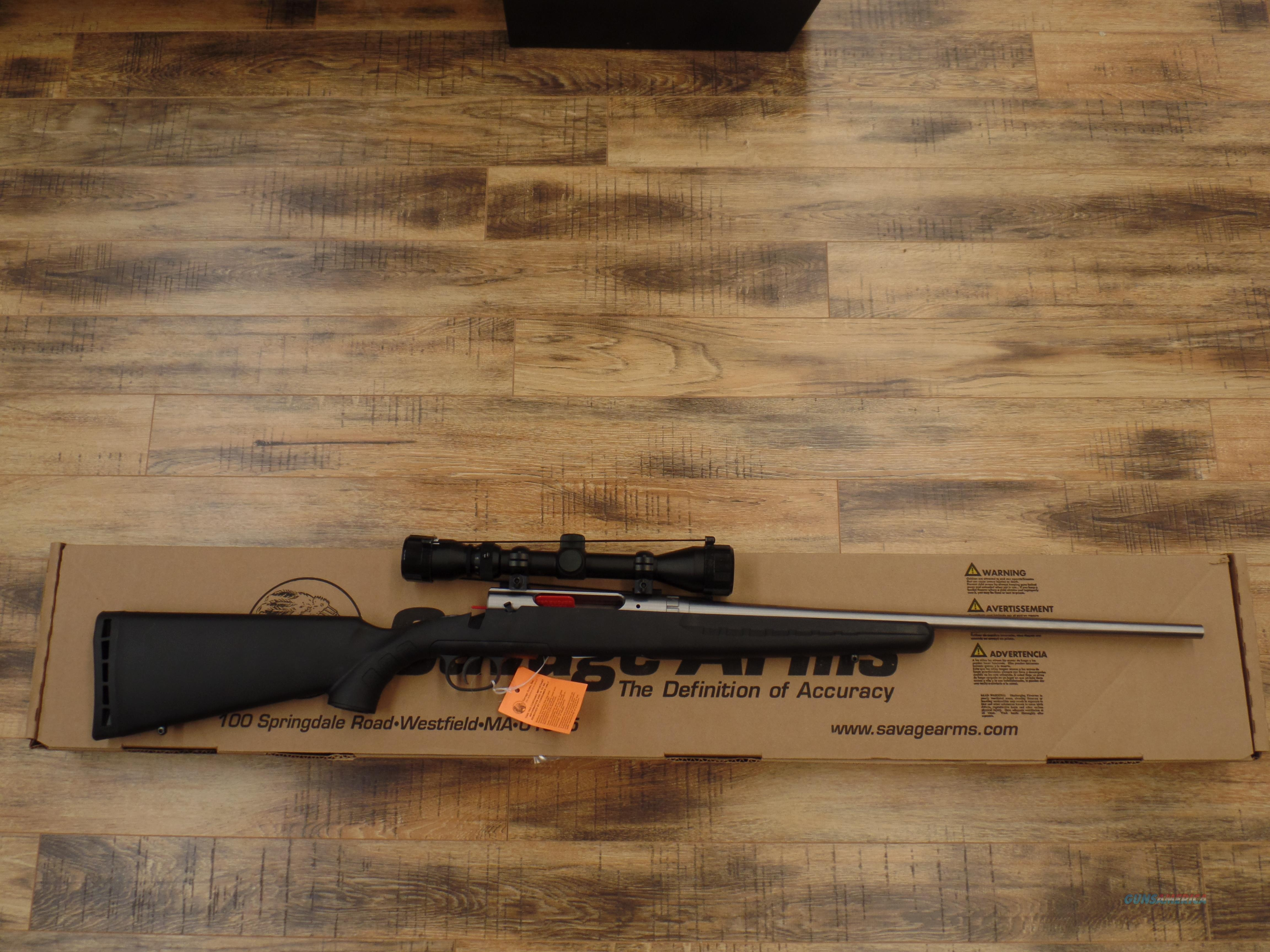 Savage Axis Stainless 243 Win  Guns > Rifles > Savage Rifles > Axis
