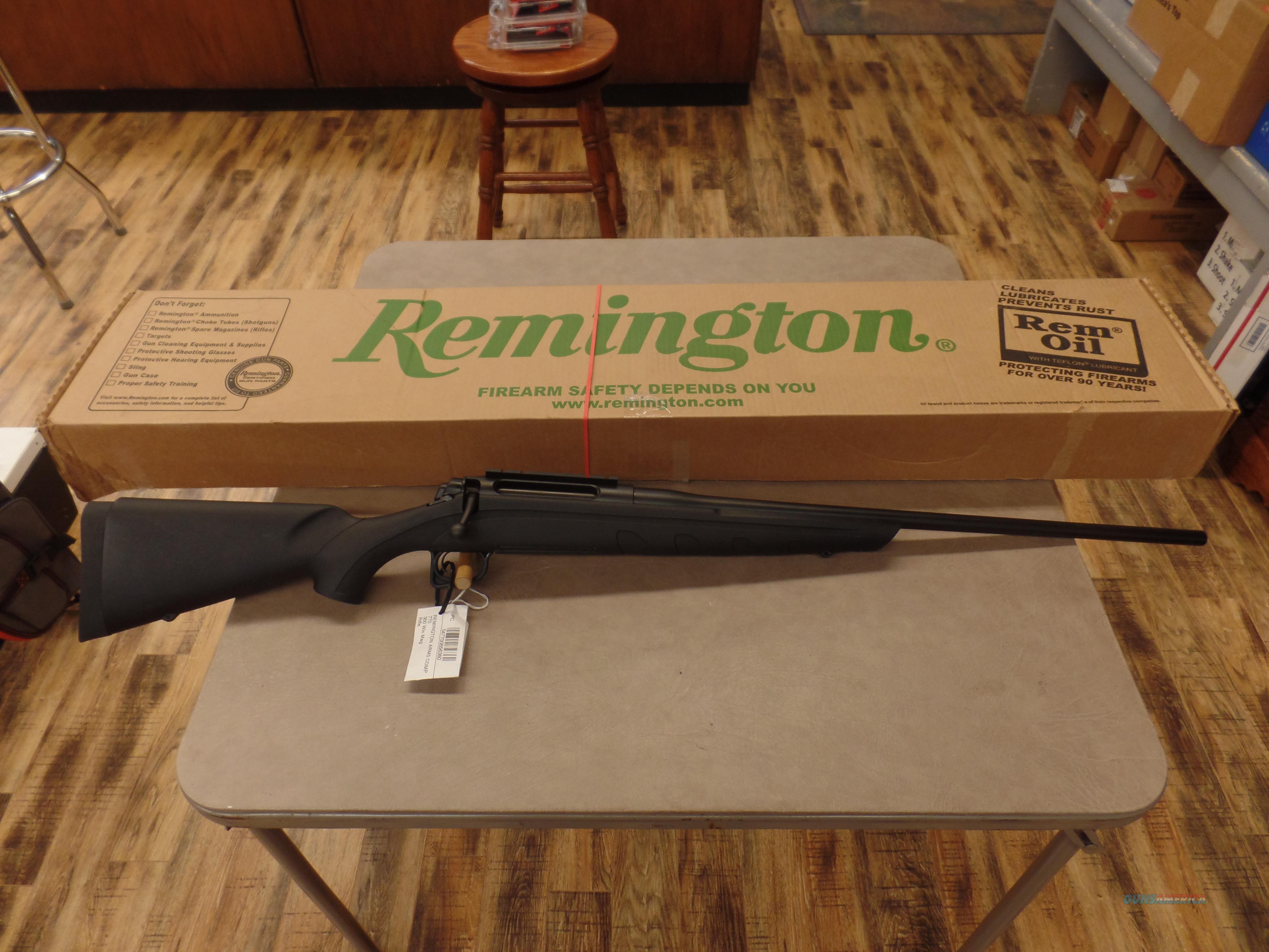 Remington Model 770 (300 WINMAG)  Guns > Rifles > Remington Rifles - Modern > Other