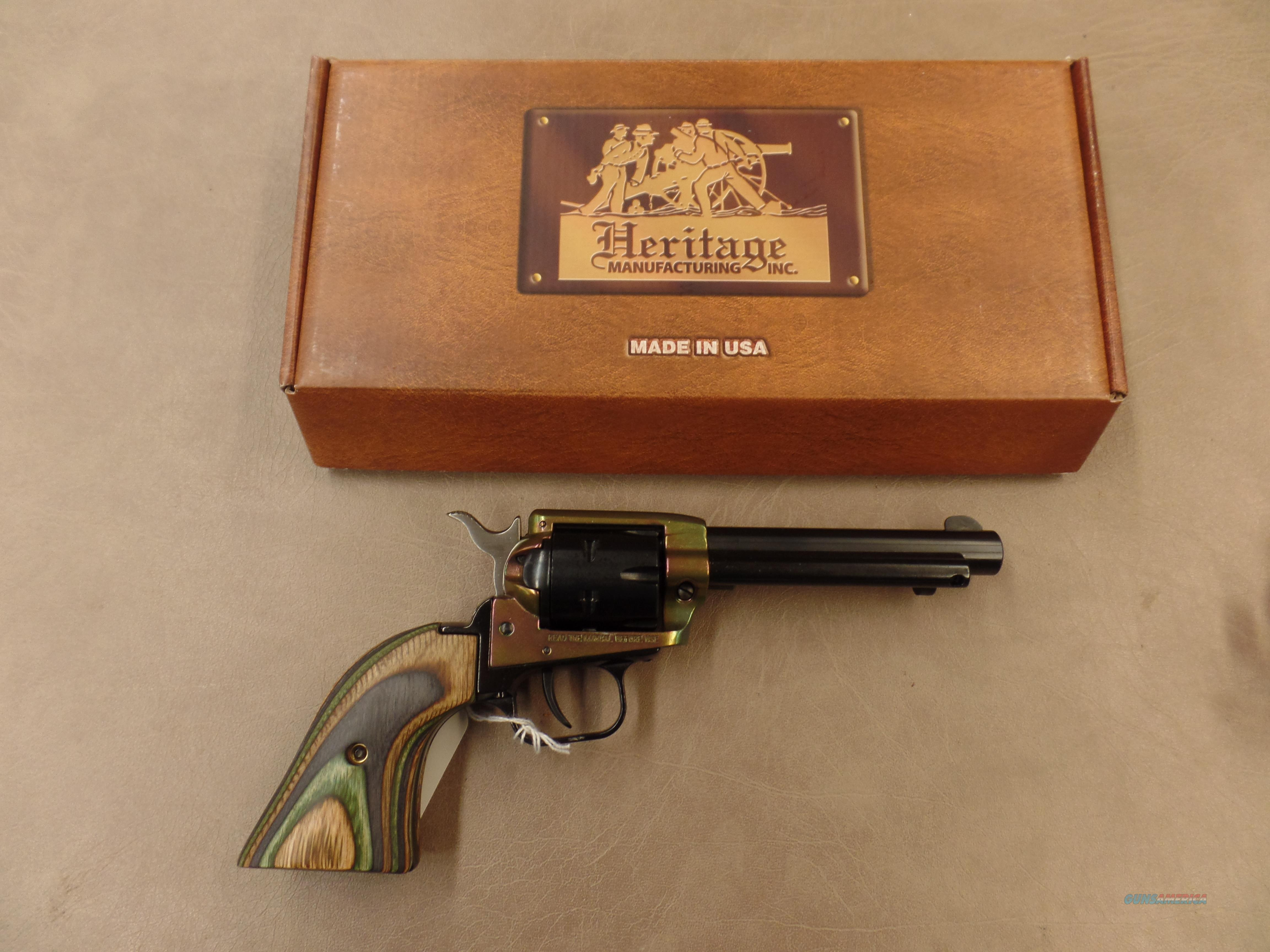 "Heritage Arms Rough Rider Color Case Hardened Finish 6 Shot 4 3/4"" (22 LR)  Guns > Pistols > Heritage"