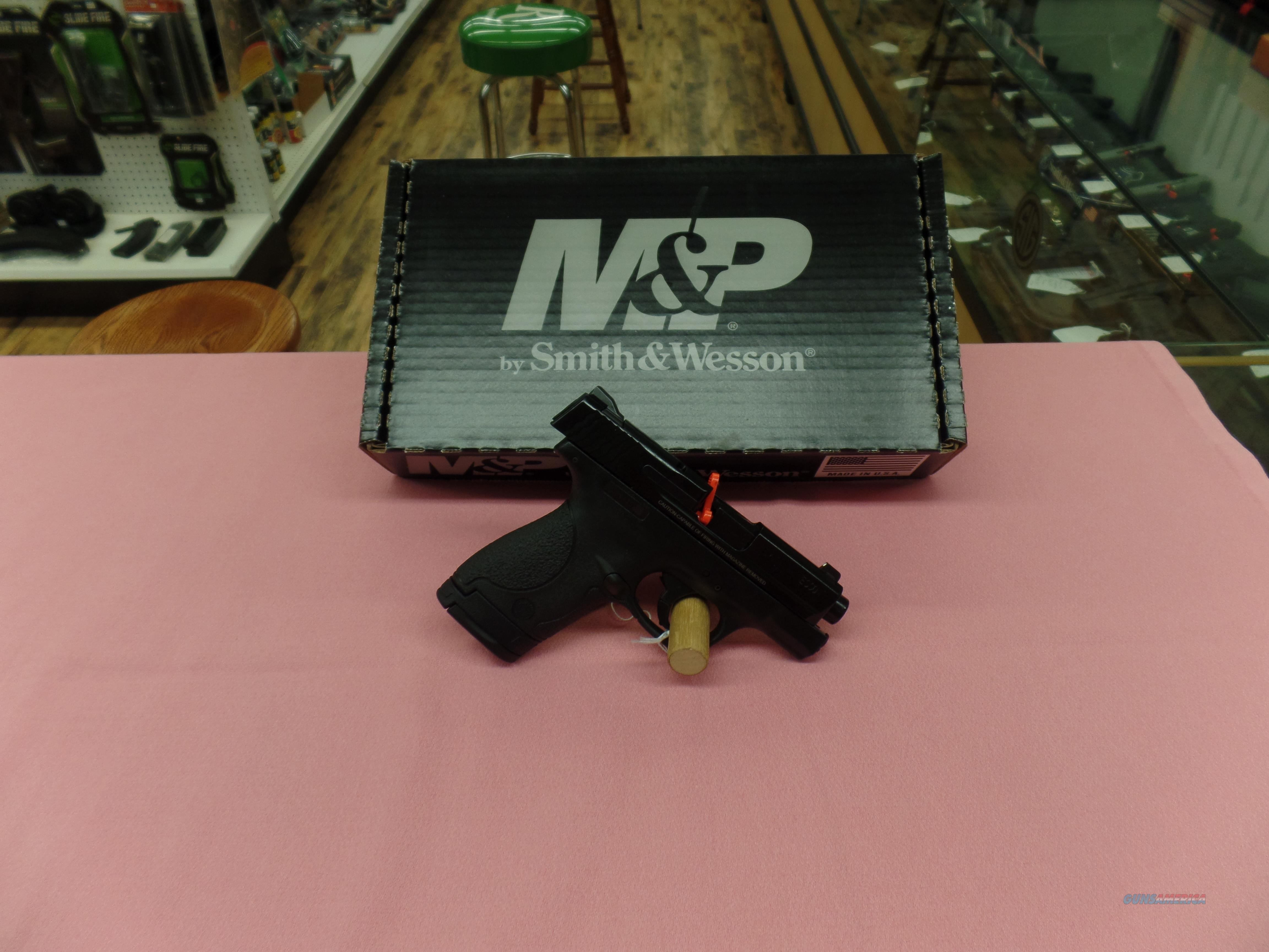 Smith and Wesson M&P Shield- 40 S&W  Guns > Pistols > Smith & Wesson Pistols - Autos > Polymer Frame