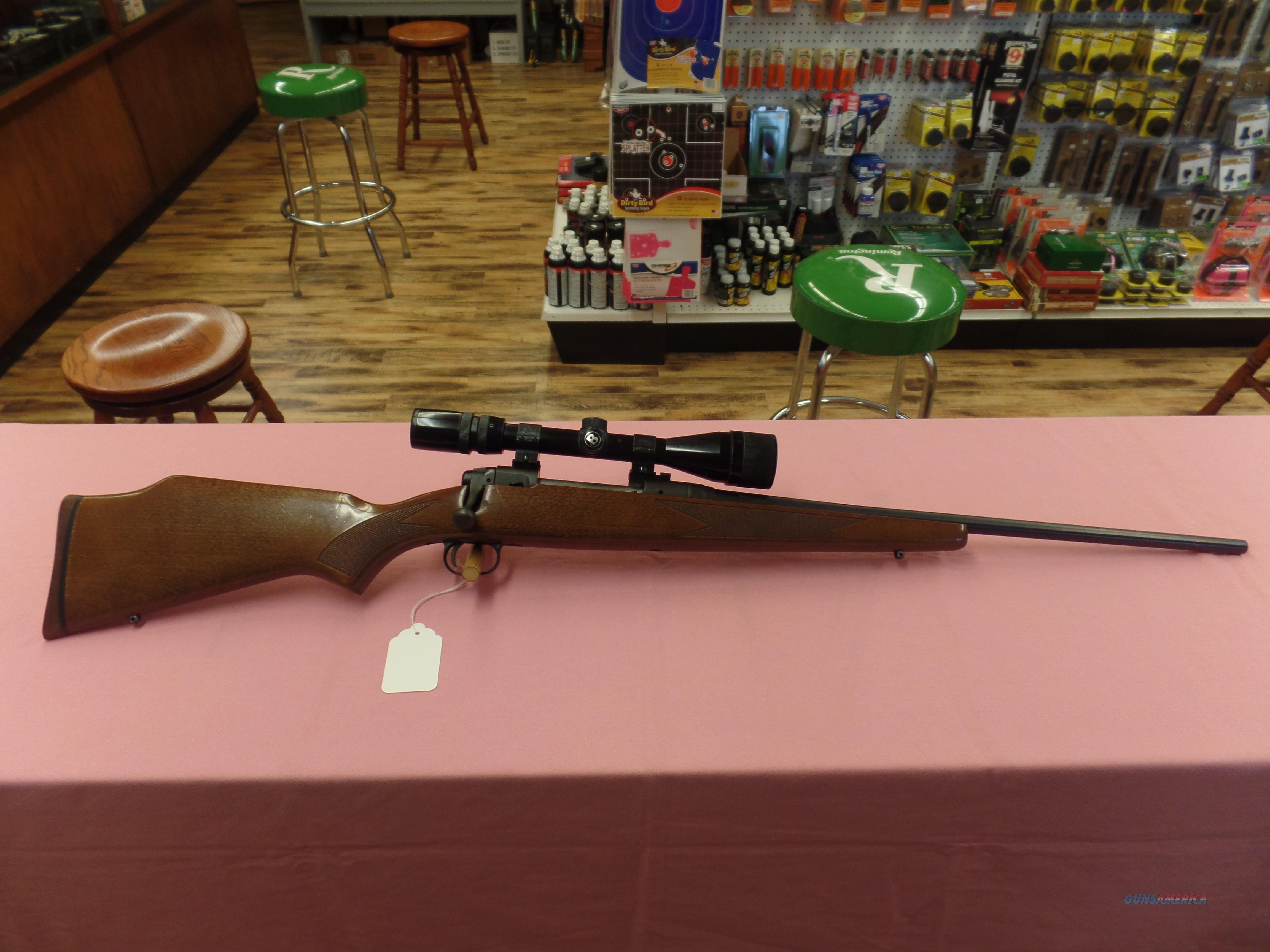 Savage Model 110 Blue & Wood (30-06) With Bushnell 4-12X42 OBJ  Guns > Rifles > Savage Rifles > 10/110