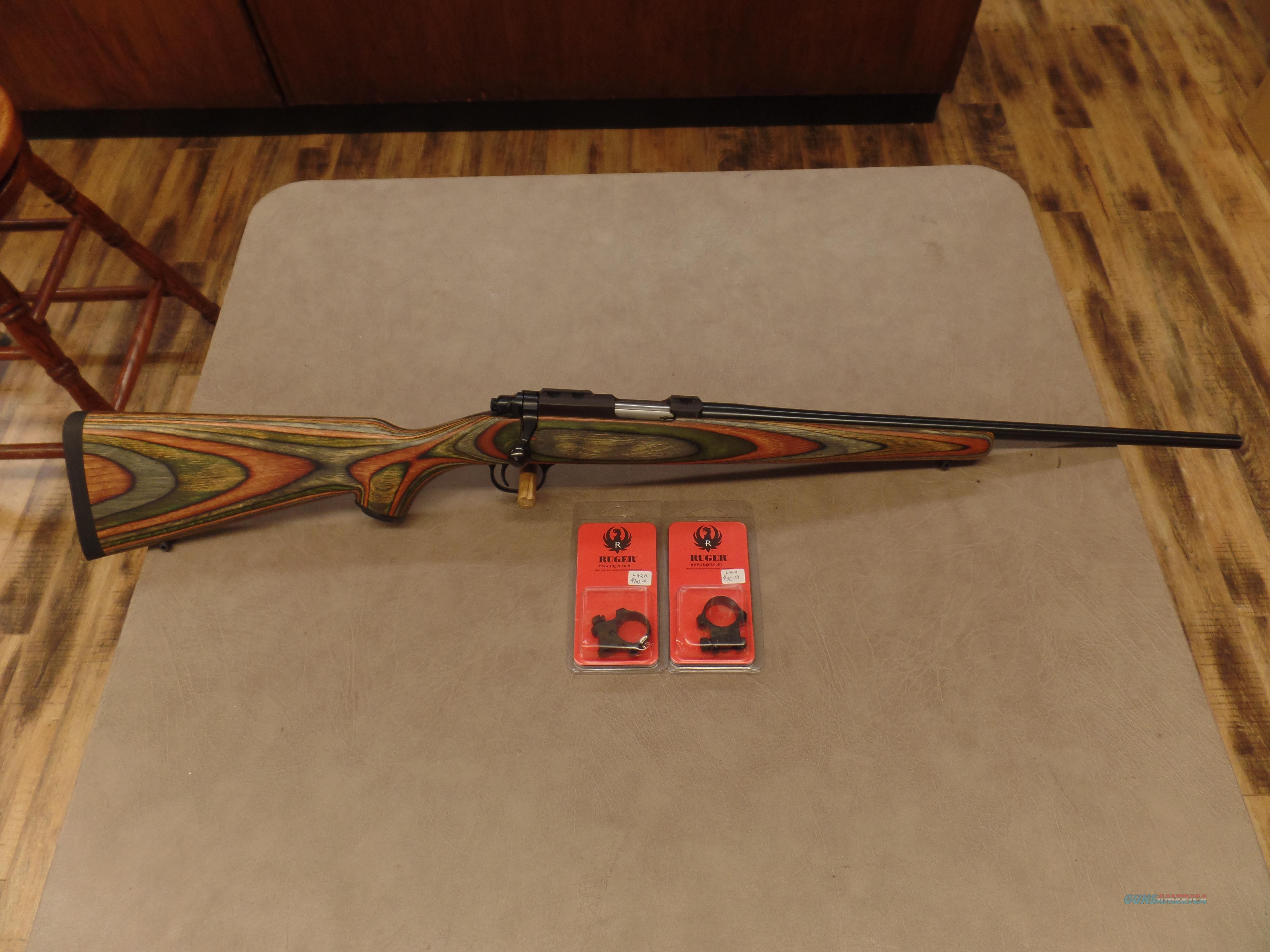 Ruger Model 77/22 GREEN LAMINATED VERY RARE (22LR)  Guns > Rifles > Ruger Rifles > Model 77