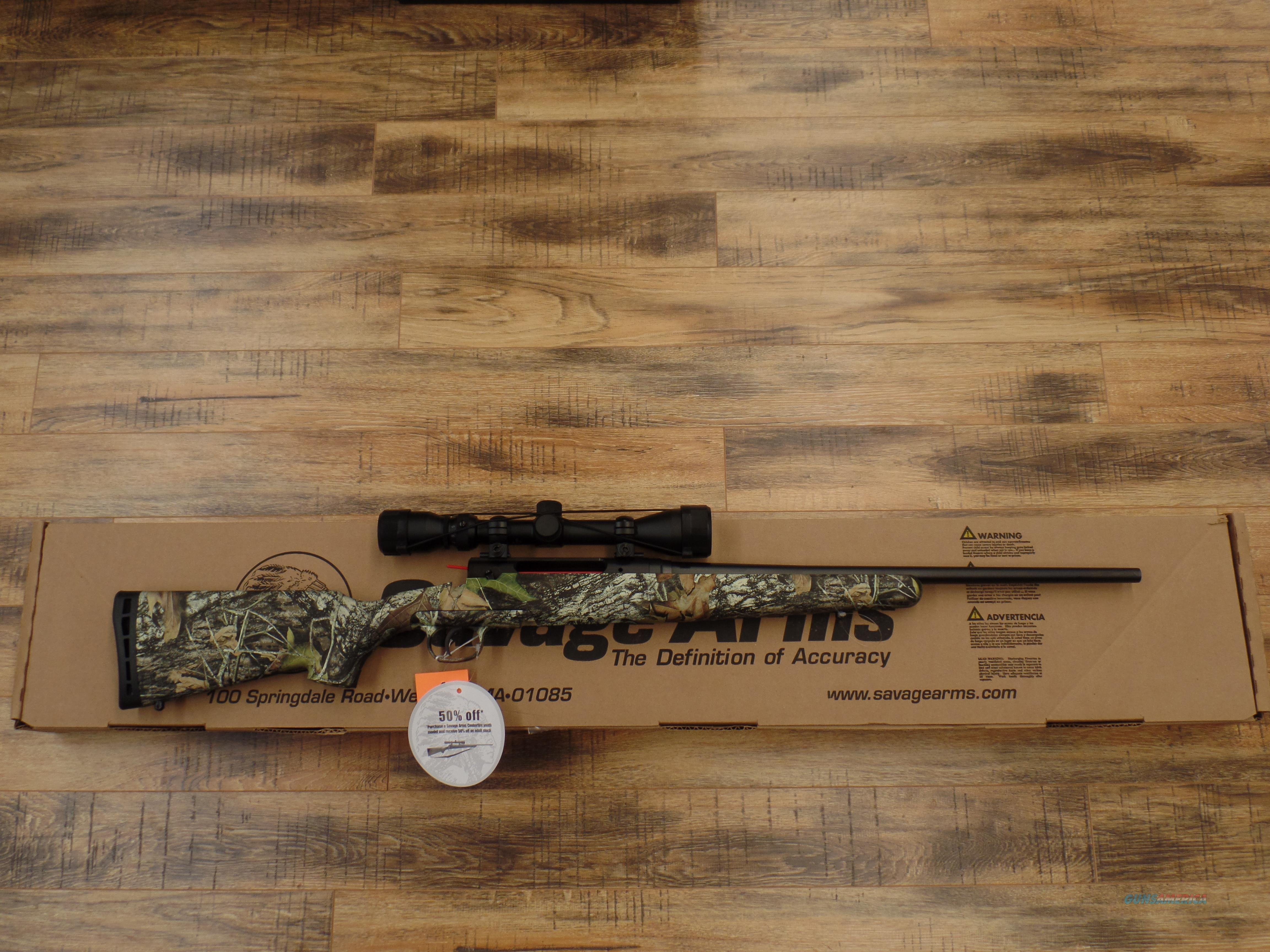 Savage Axis Camo youth 223 / 5.56 Nato  Guns > Rifles > Savage Rifles > Axis