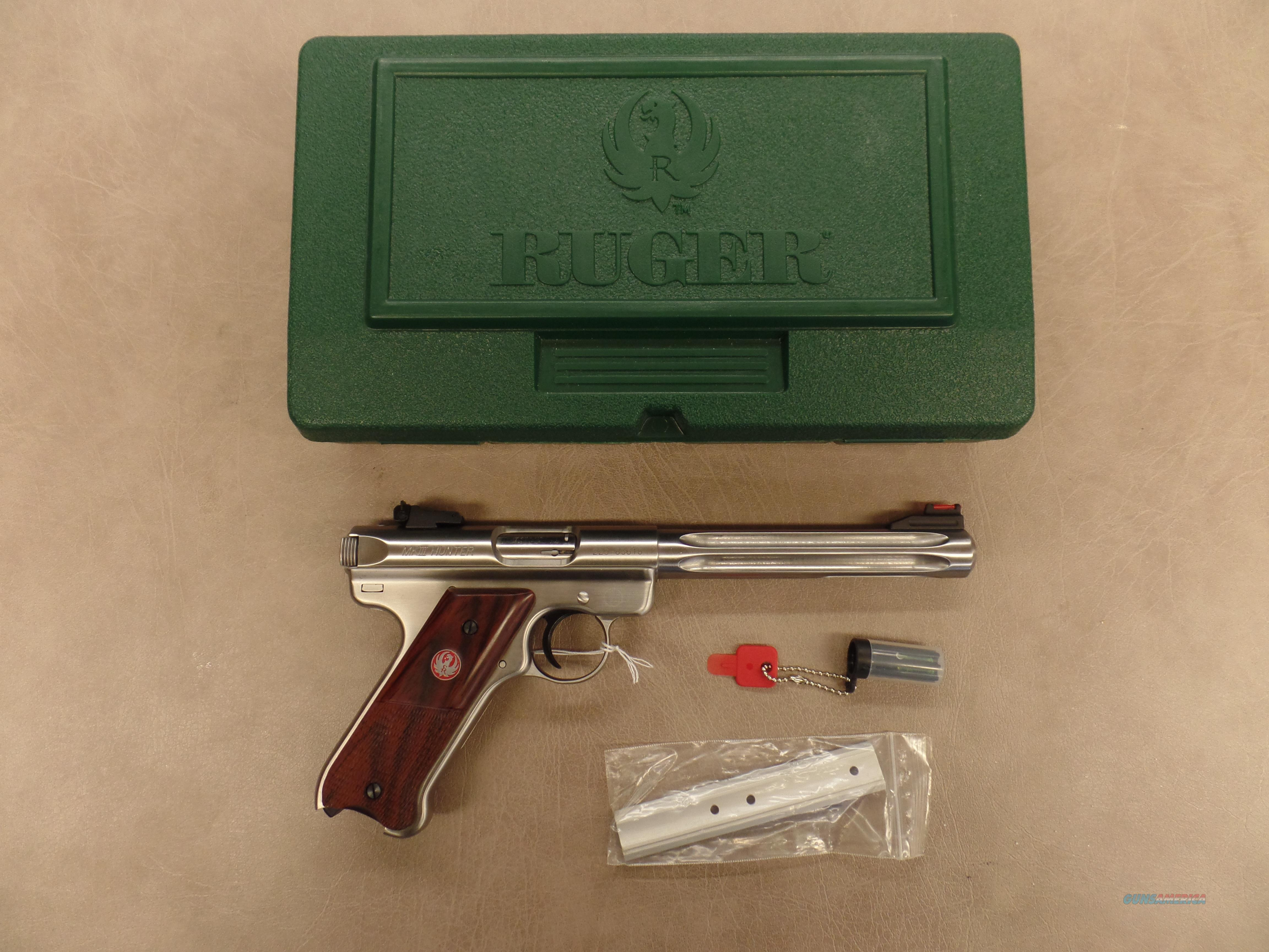 Ruger Mark III Hunter  Guns > Pistols > Ruger Semi-Auto Pistols > Mark I/II/III Family