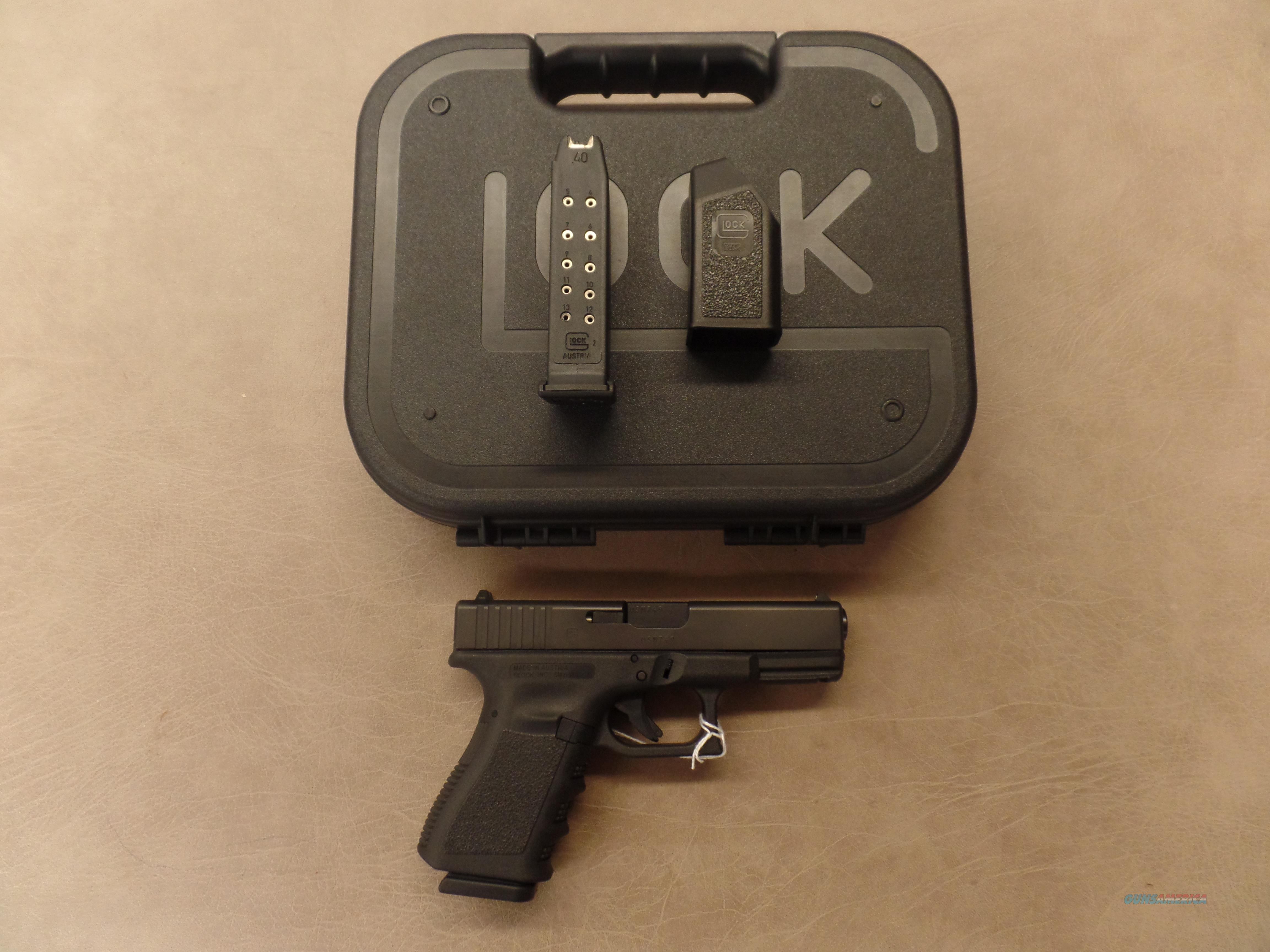 Glock 23 (40 S&W)  Guns > Pistols > Glock Pistols > 23