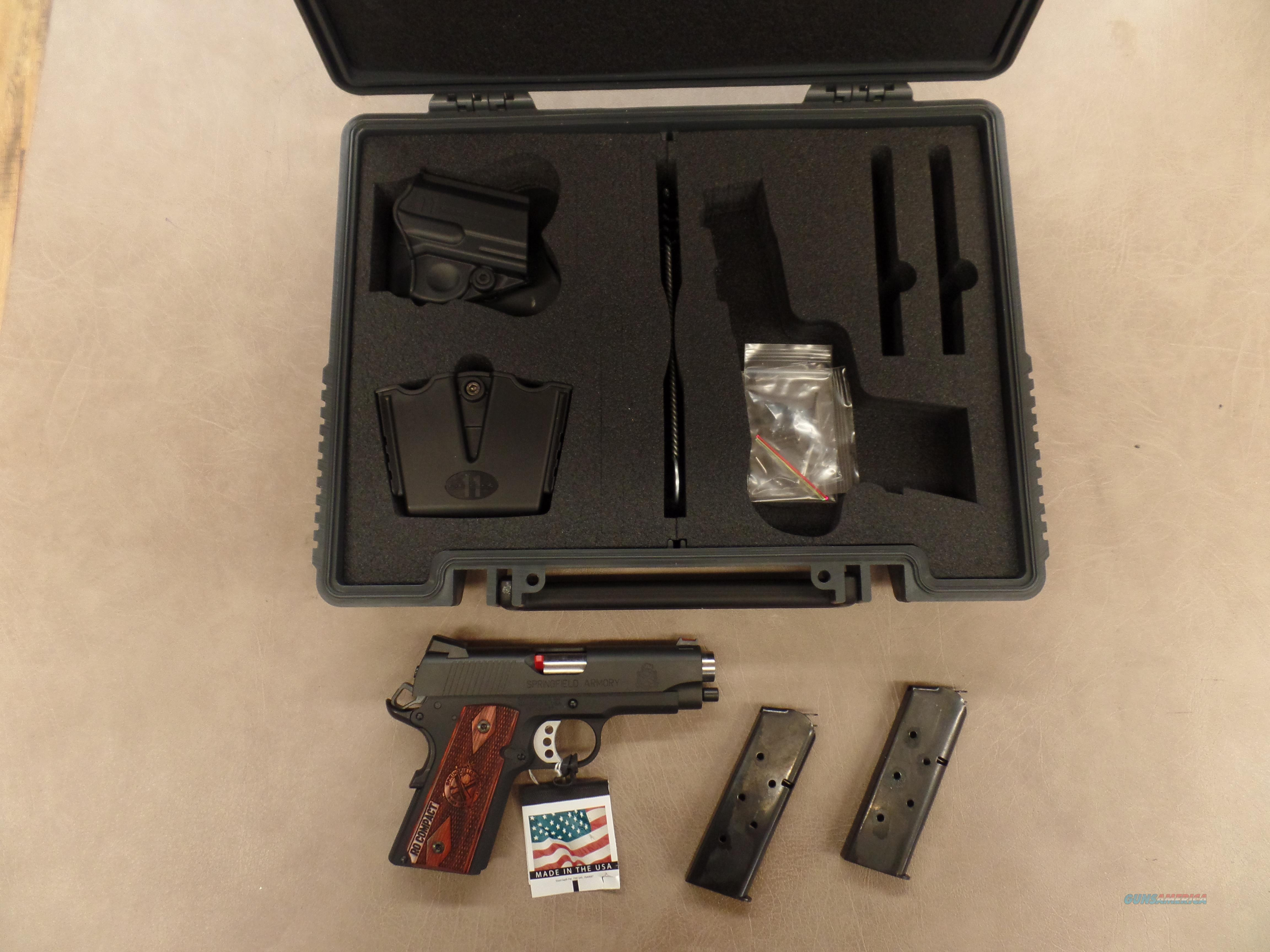 Springfield Armary Range Officer Compact 1911  Guns > Pistols > Springfield Armory Pistols > 1911 Type
