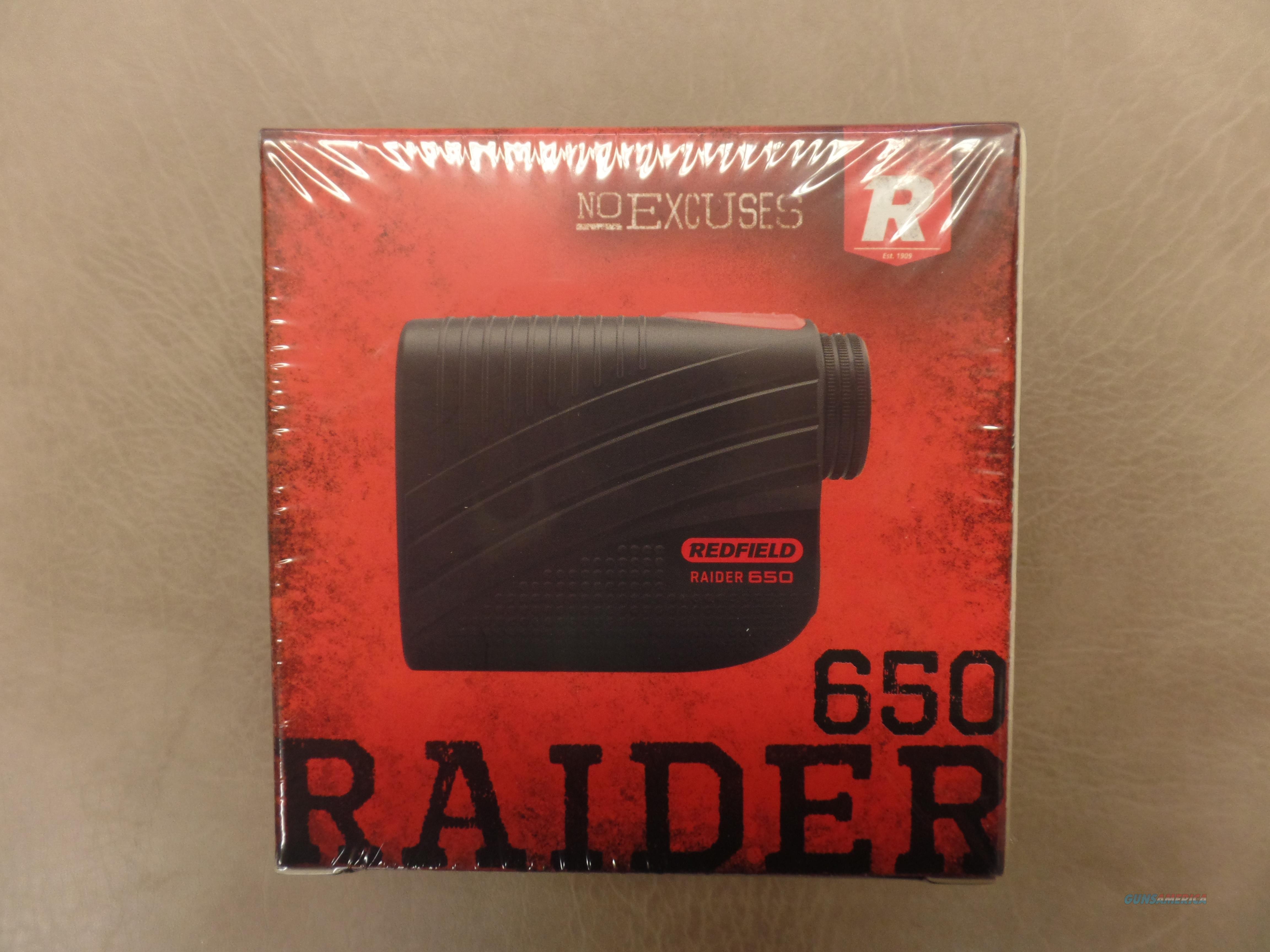 Redfield Raider 650 Digital Laser Rangefinder  Non-Guns > Scopes/Mounts/Rings & Optics > Non-Scope Optics > Rangefinders