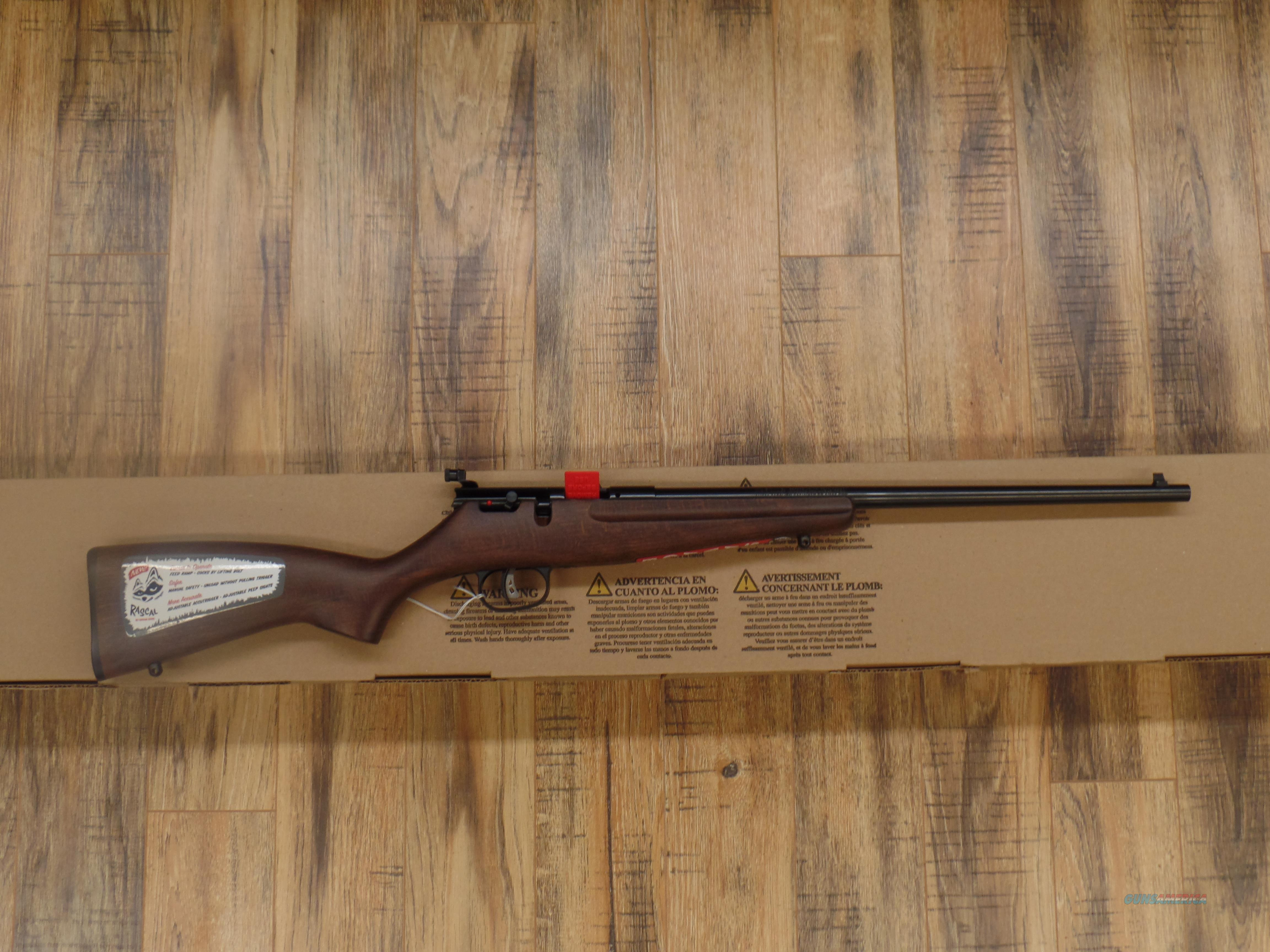 Savage Arms Rascal (22 LR)  Guns > Rifles > Savage Rifles > Accutrigger Models > Sporting