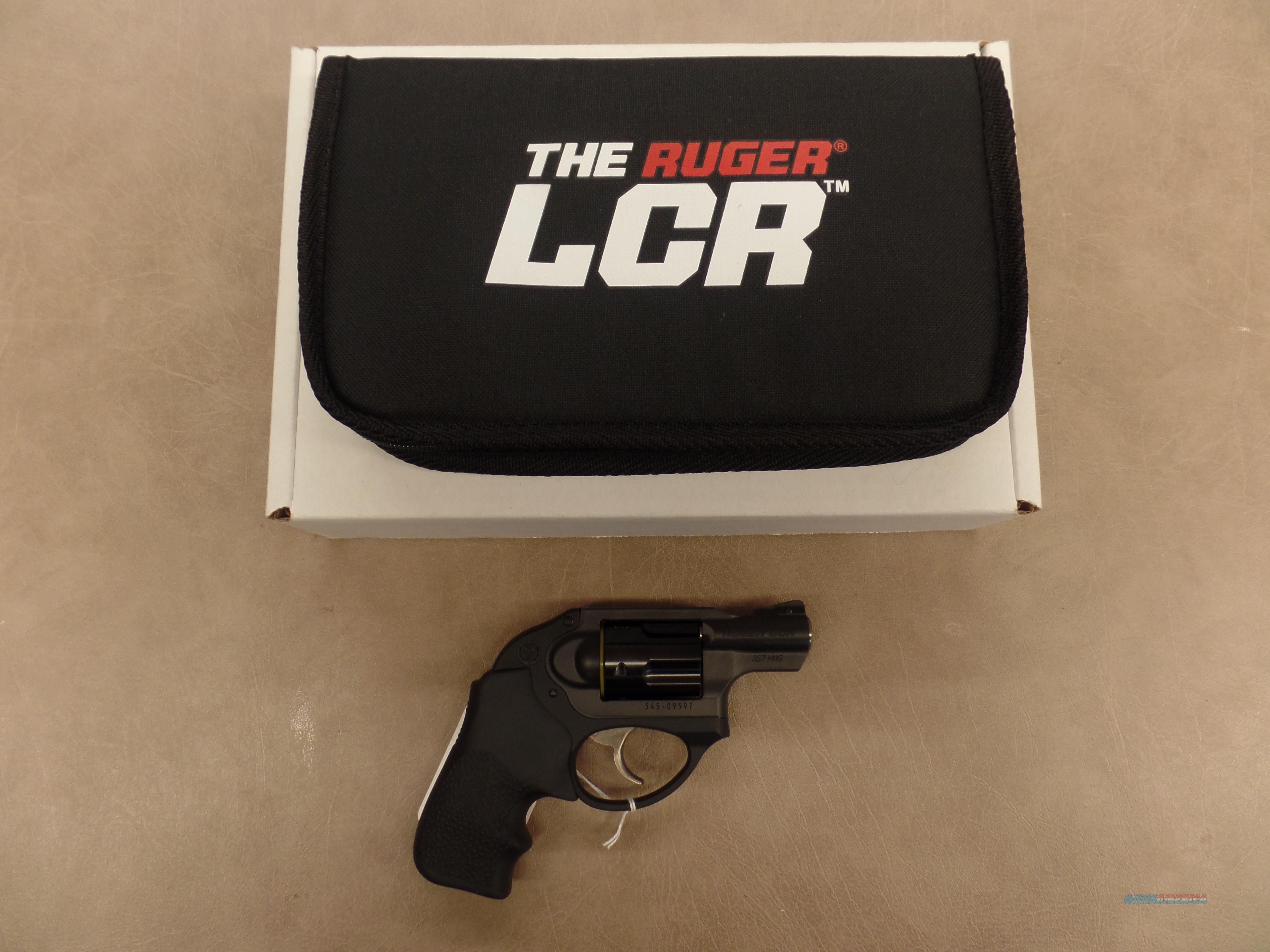 Ruger LCR 357 Mag  Guns > Pistols > Ruger Double Action Revolver > LCR