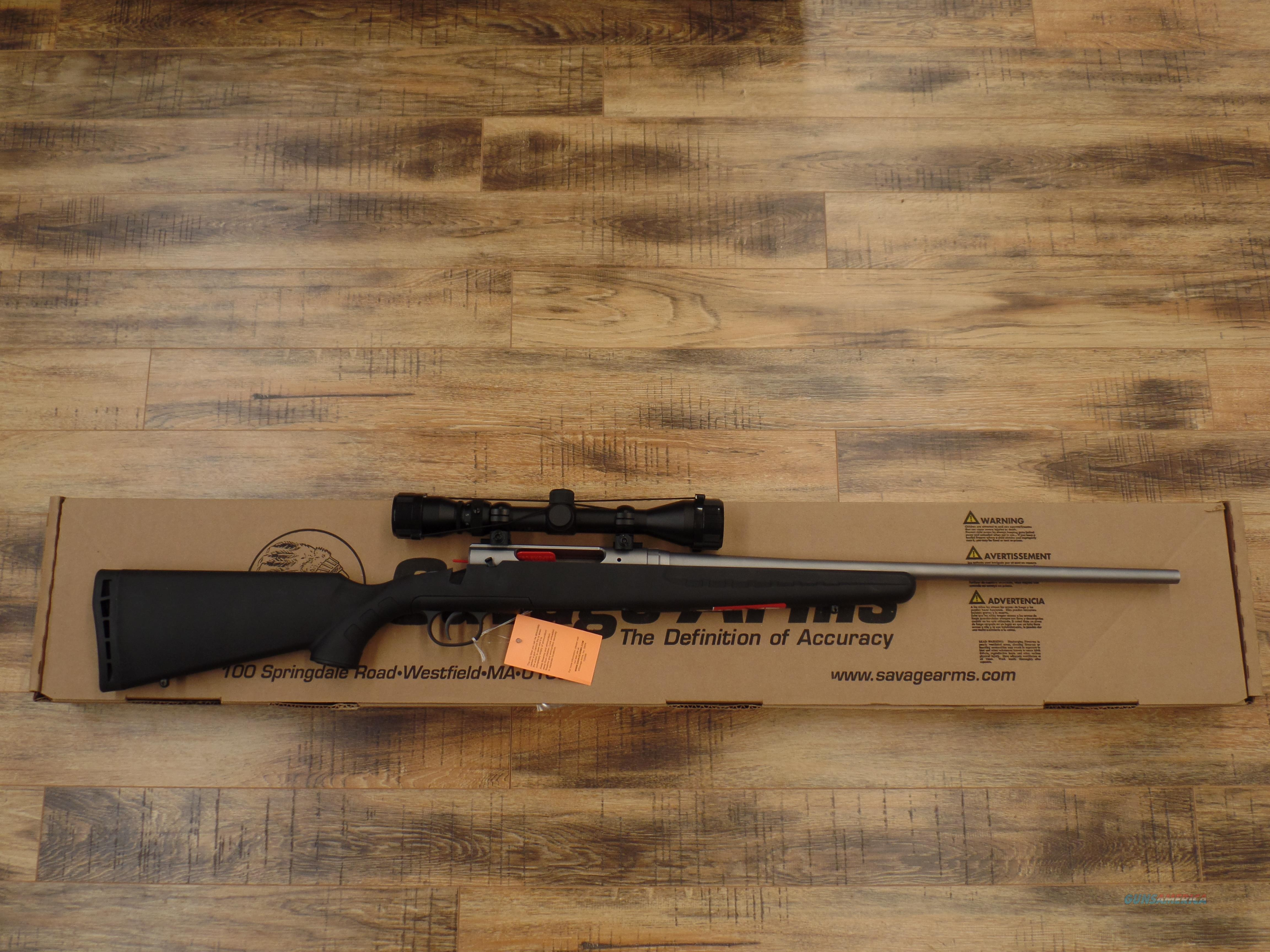 Savage Axis Stainless 223 / 5.56 Nato  Guns > Rifles > Savage Rifles > Axis