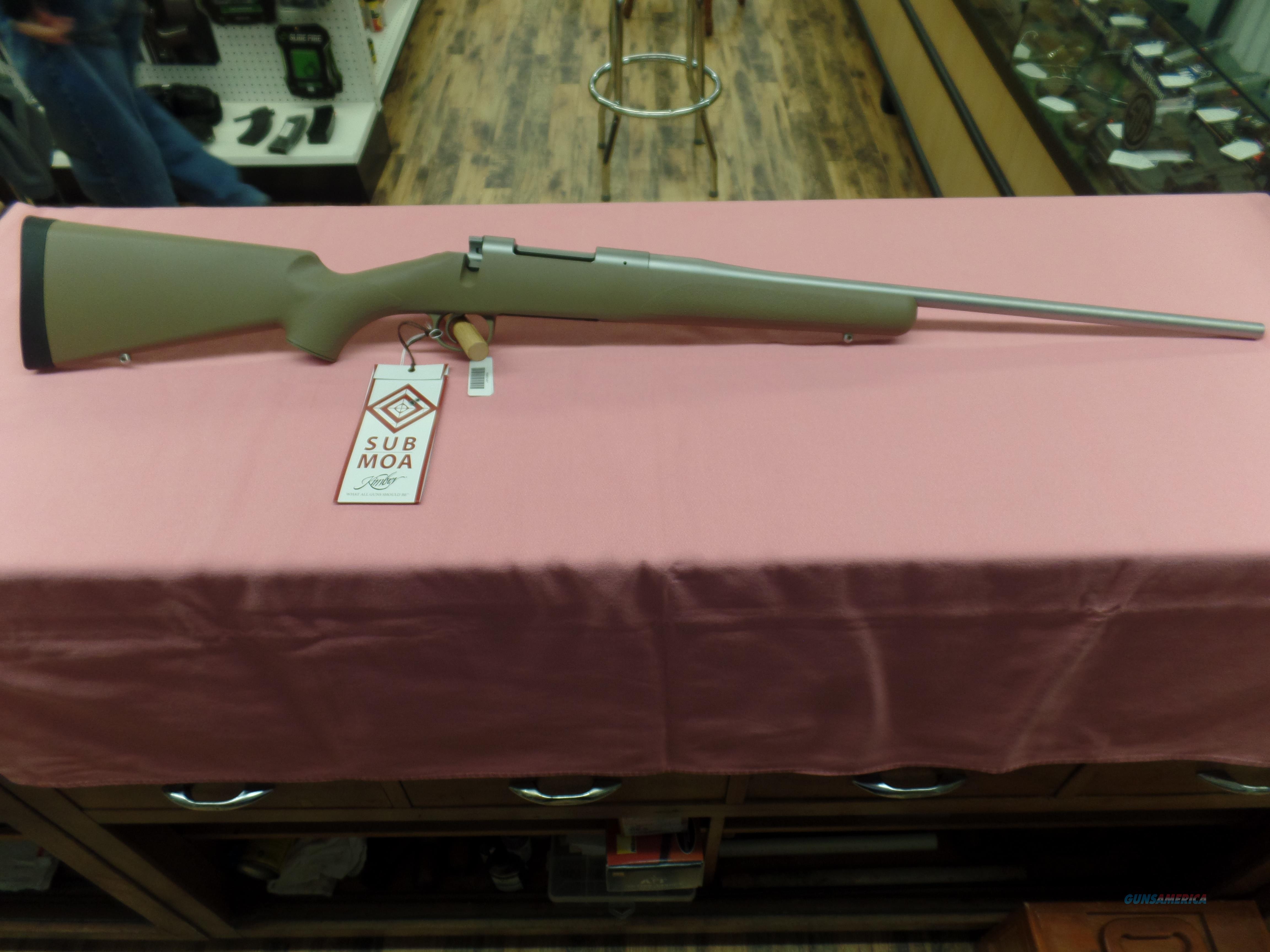 Kimber 84M Hunter- .308  Guns > Rifles > Kimber of America Rifles