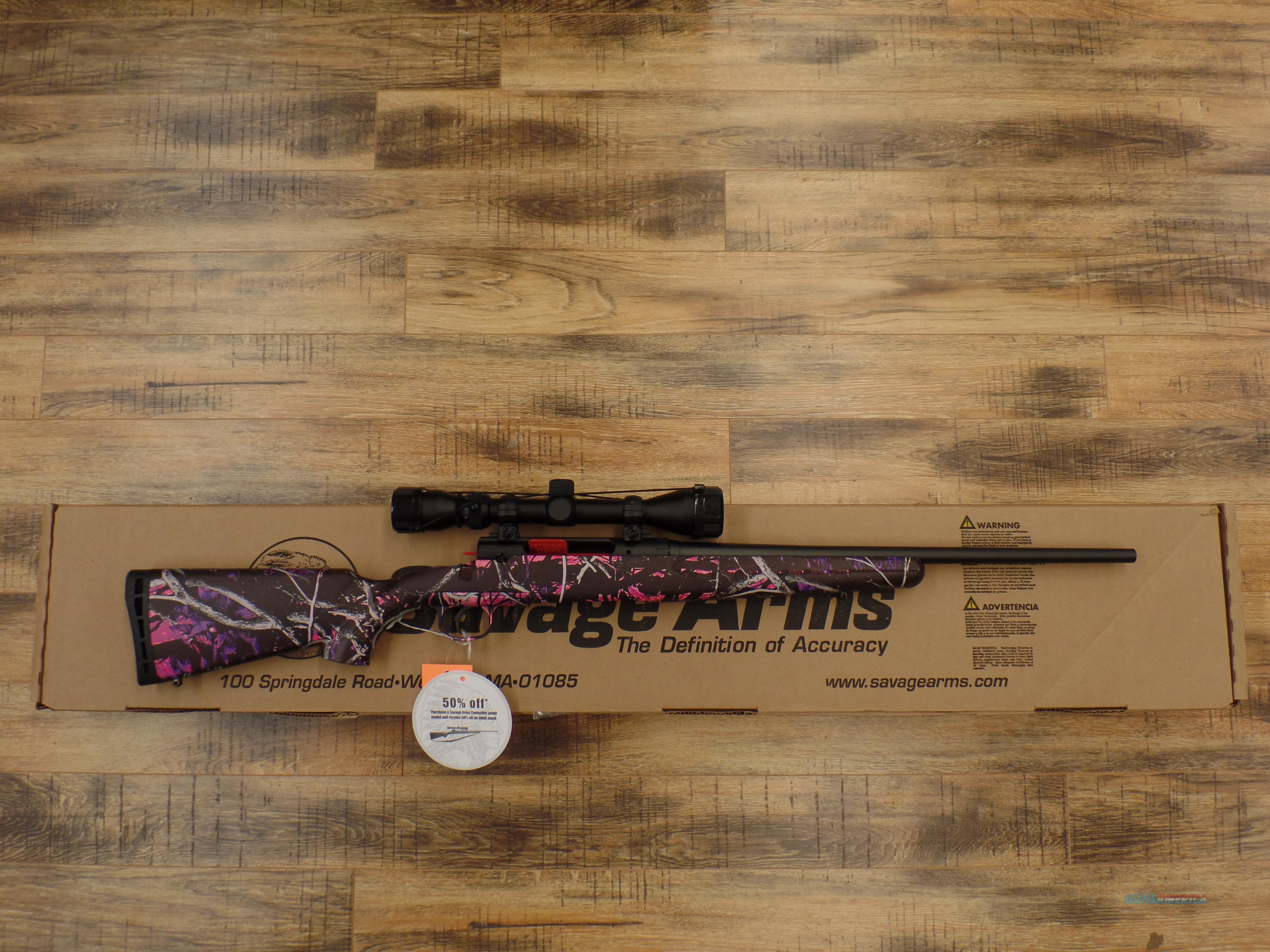 Savage Axis Muddy Girl (YOUTH) 223 / 5.56 Nato  Guns > Rifles > Savage Rifles > Axis