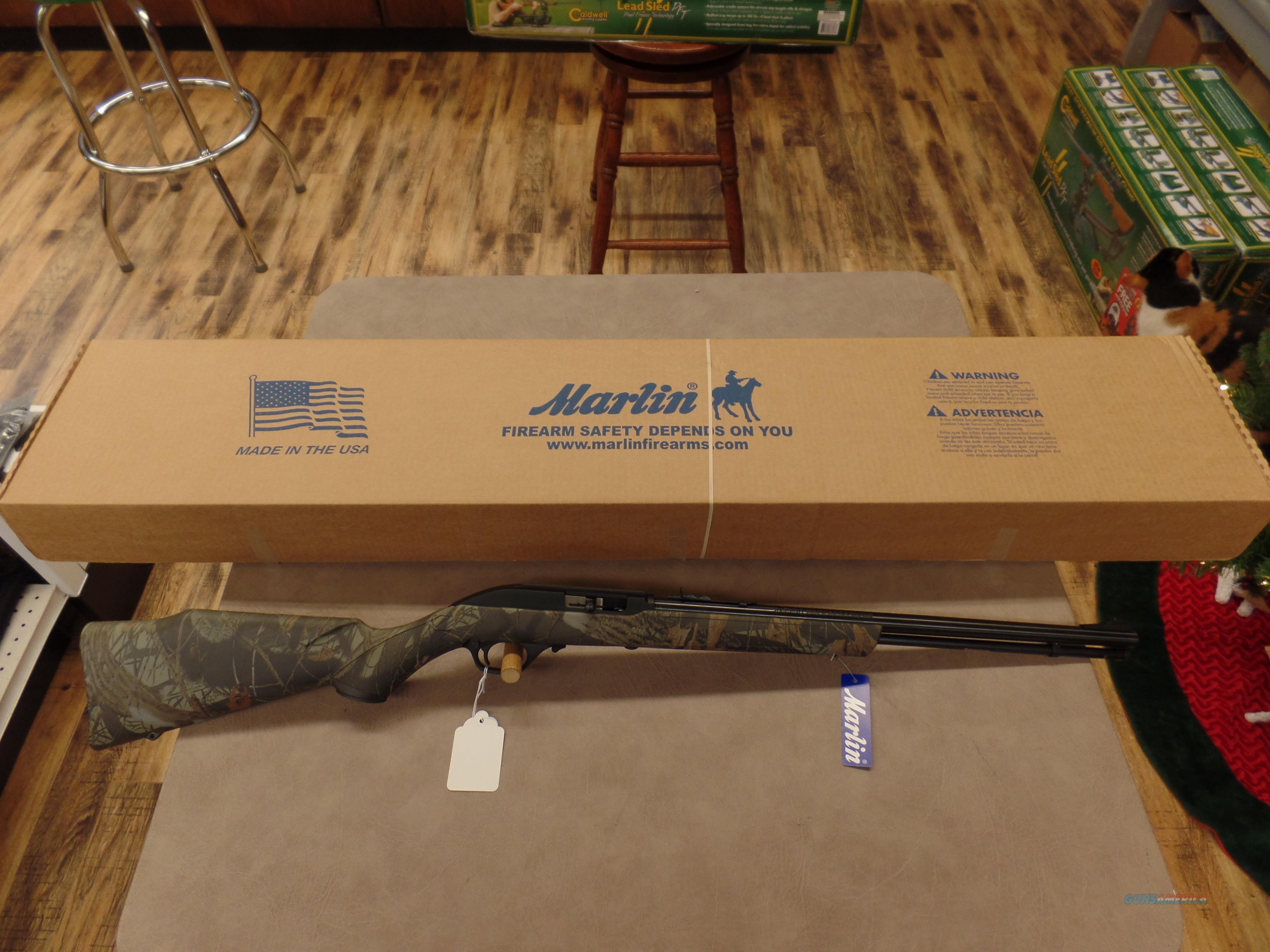 Marlin Model 60 Camo Stock (22 LR)  Guns > Rifles > Marlin Rifles > Modern > Semi-auto
