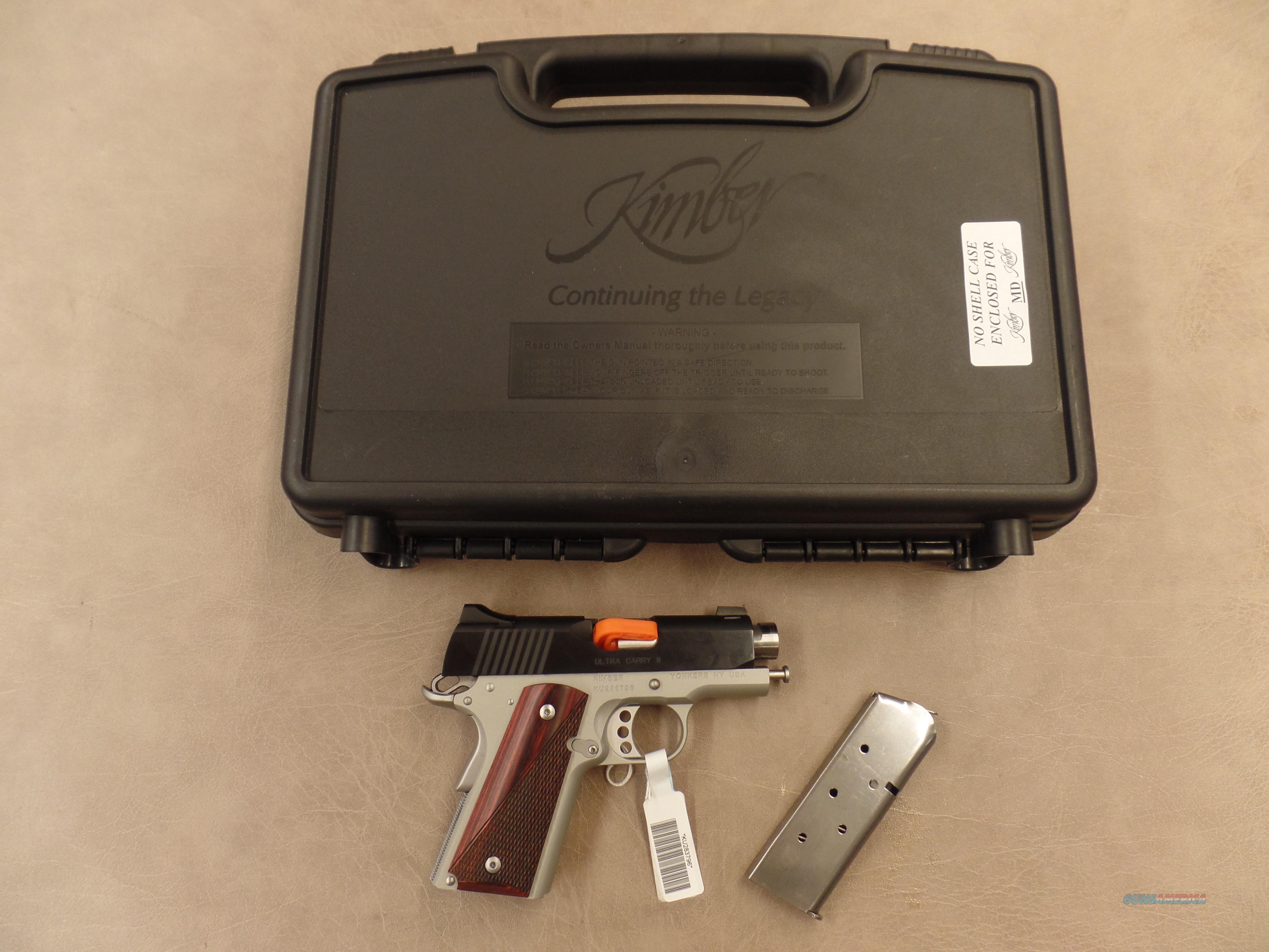 Kimber Ultra Carry II (45ACP)  Guns > Pistols > Kimber of America Pistols