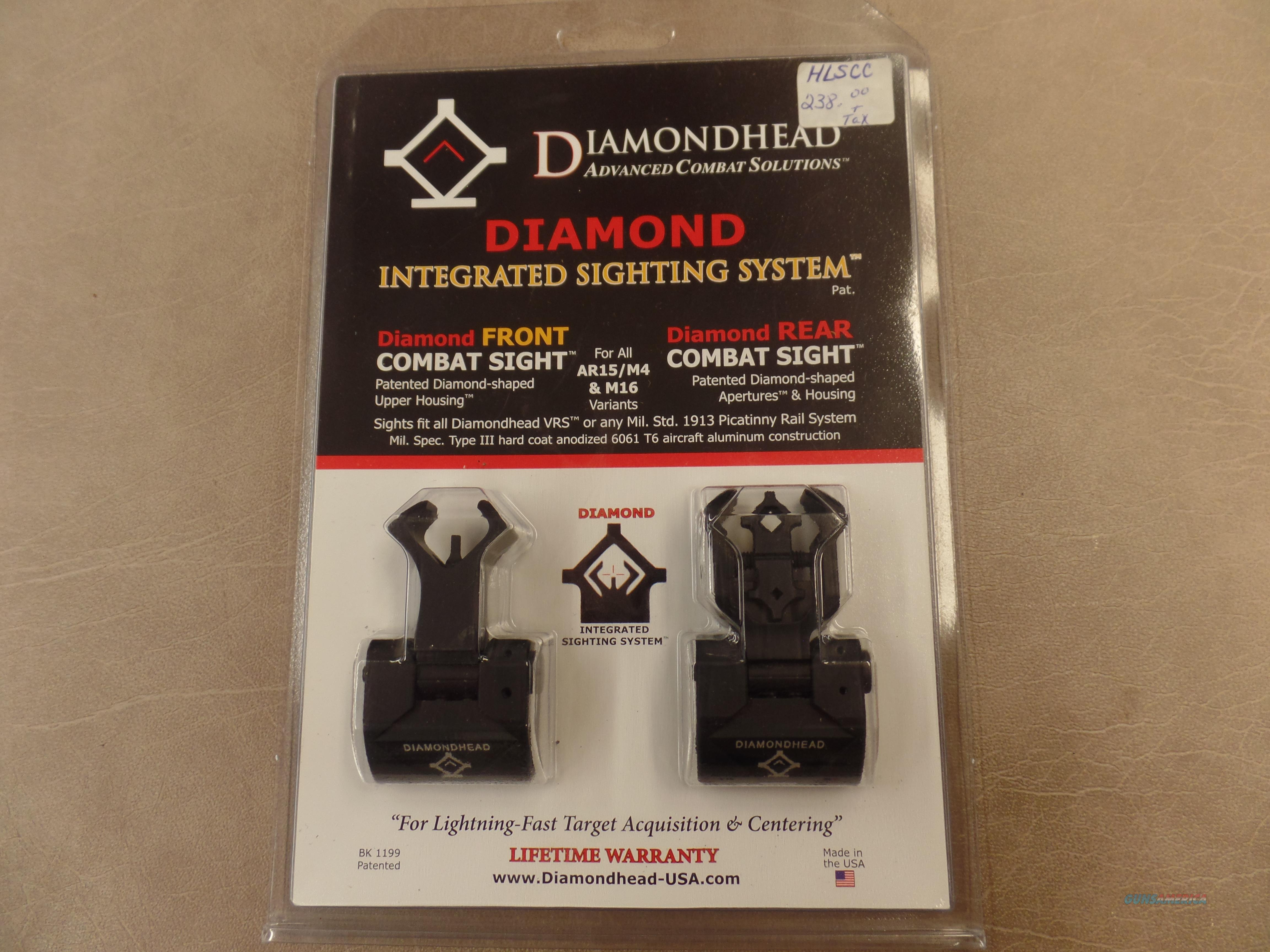 Diamondhead Diamond Integrated Sighting System ( Combat Sight )  Non-Guns > Scopes/Mounts/Rings & Optics > Non-Scope Optics > Other