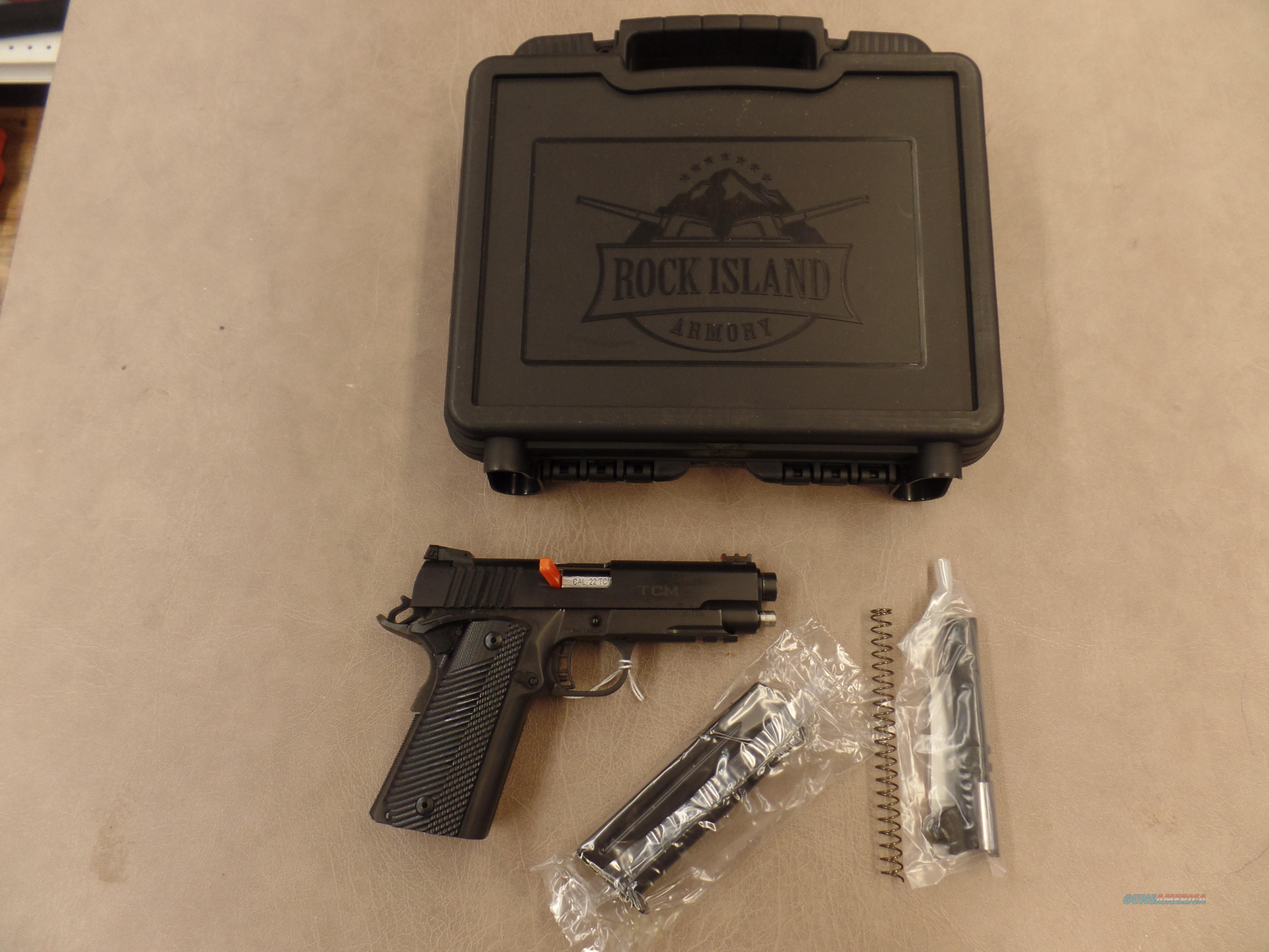 Armscor Rock Island M1911 A2 ( 22TCM / 9MM ) Both Barrels Included.  Guns > Pistols > Armscor Pistols > Rock Island