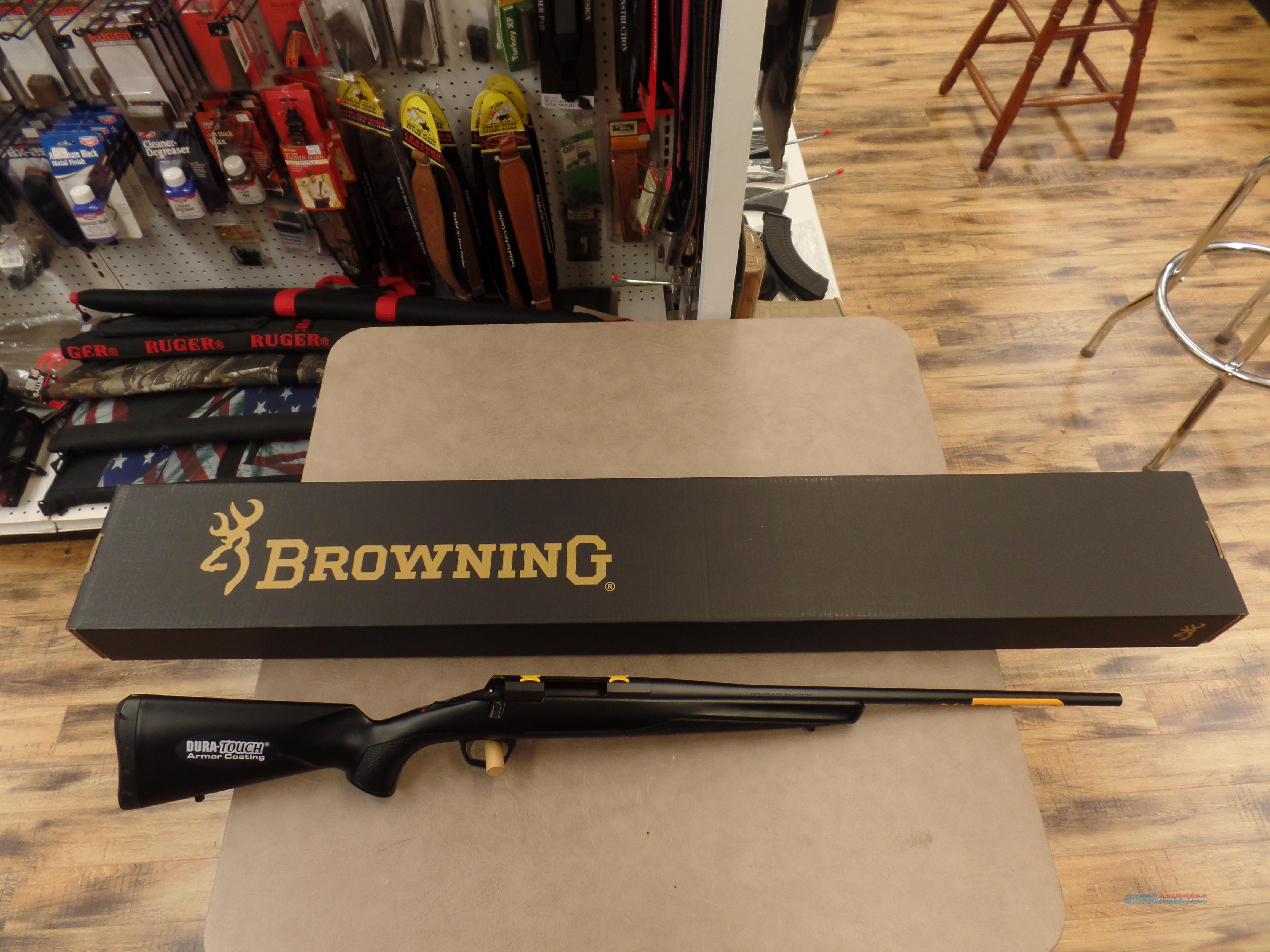 Browning X-Bolt (308 cal.) With Dura Touch Armor Coated Stock  Guns > Rifles > Browning Rifles > Bolt Action > Hunting > Blue