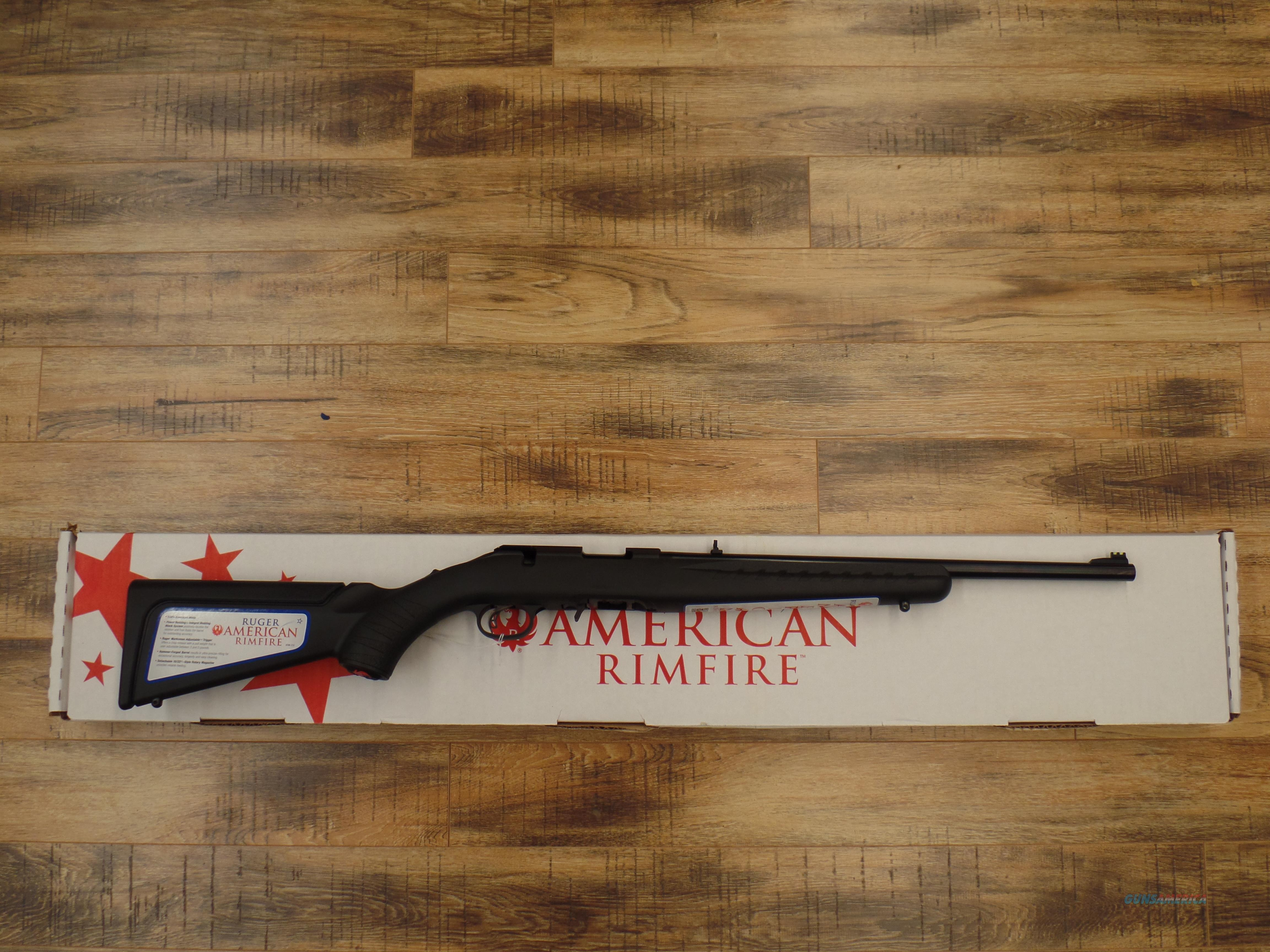 Ruger American (22 Mag)  Guns > Rifles > Ruger Rifles > American