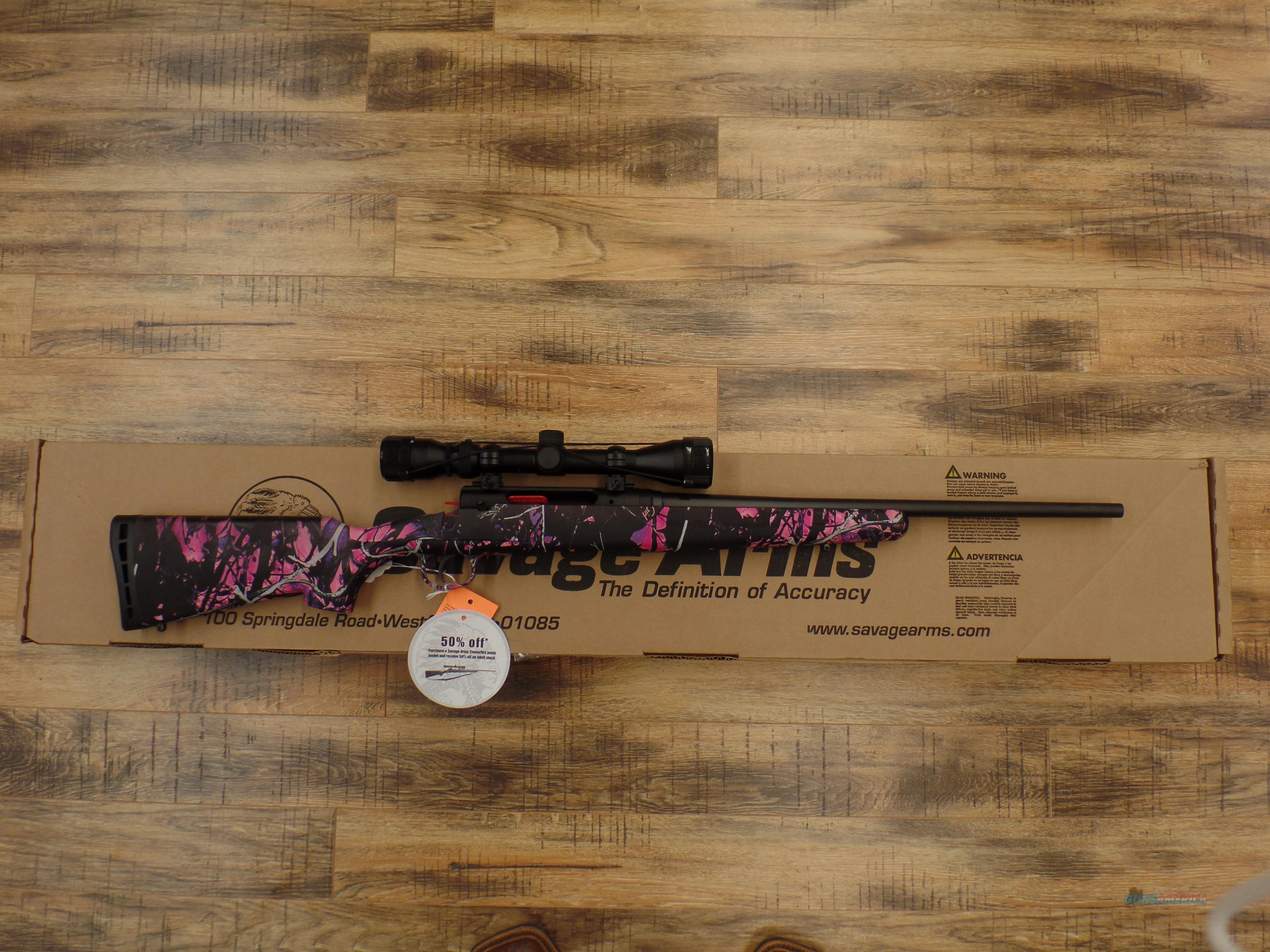 Savage Axis Muddy Girl (YOUTH) 7mm08  Guns > Rifles > Savage Rifles > Axis
