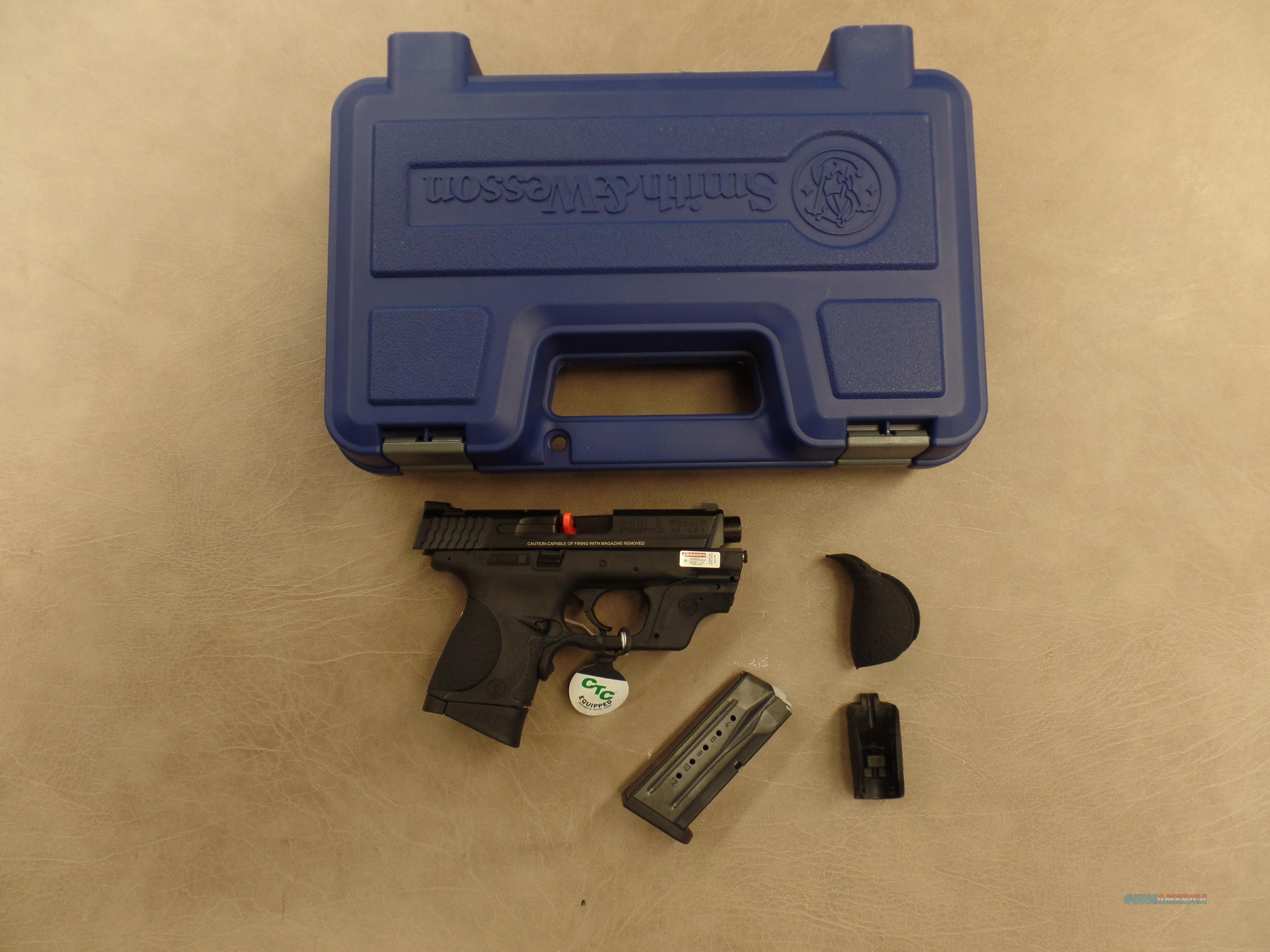 Smith & Wesson M&P9C With CTC  Guns > Pistols > Smith & Wesson Pistols - Autos > Polymer Frame