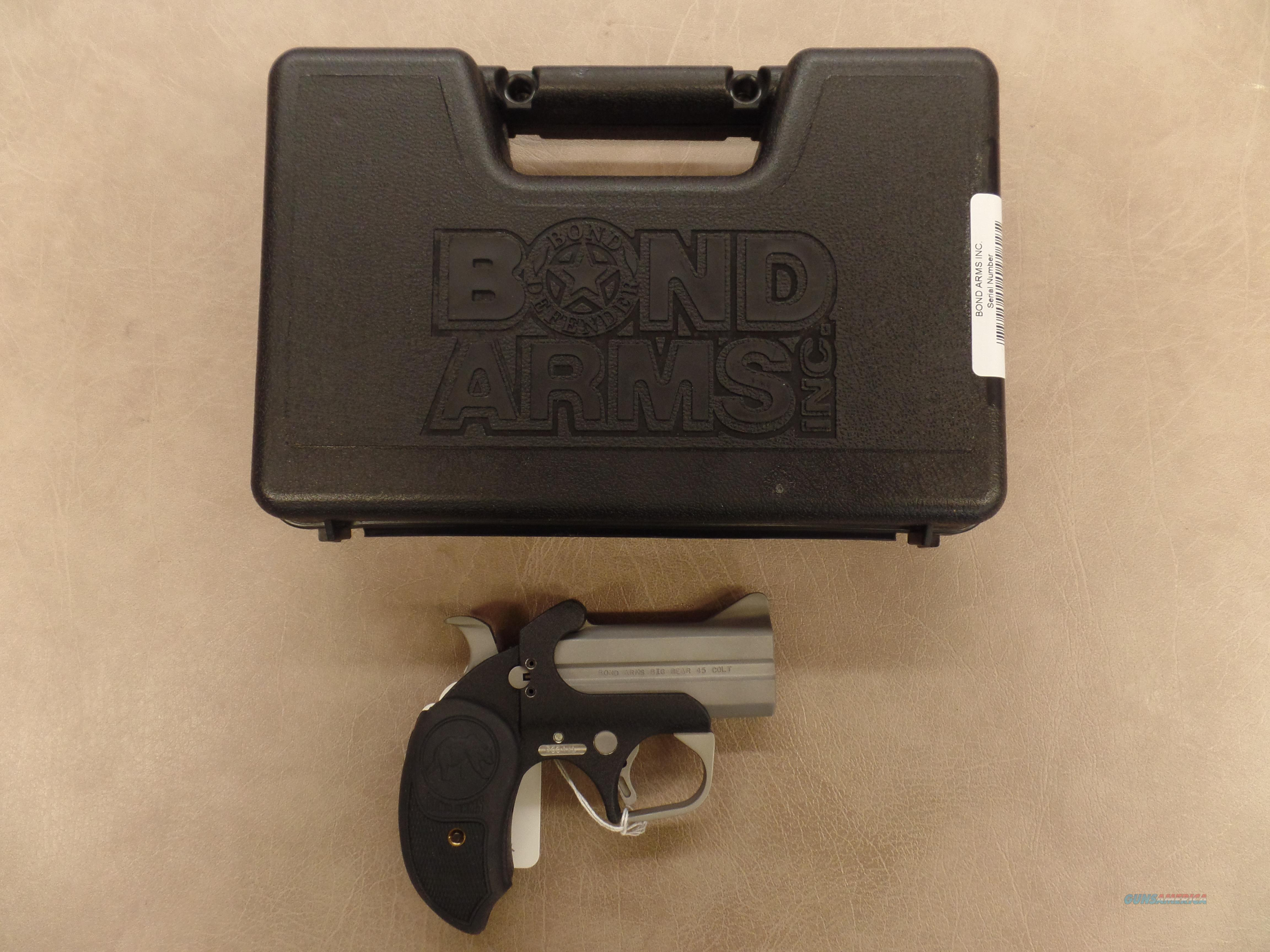 Bond Arms  Big Bear (45 LC)  Guns > Pistols > Bond Derringers