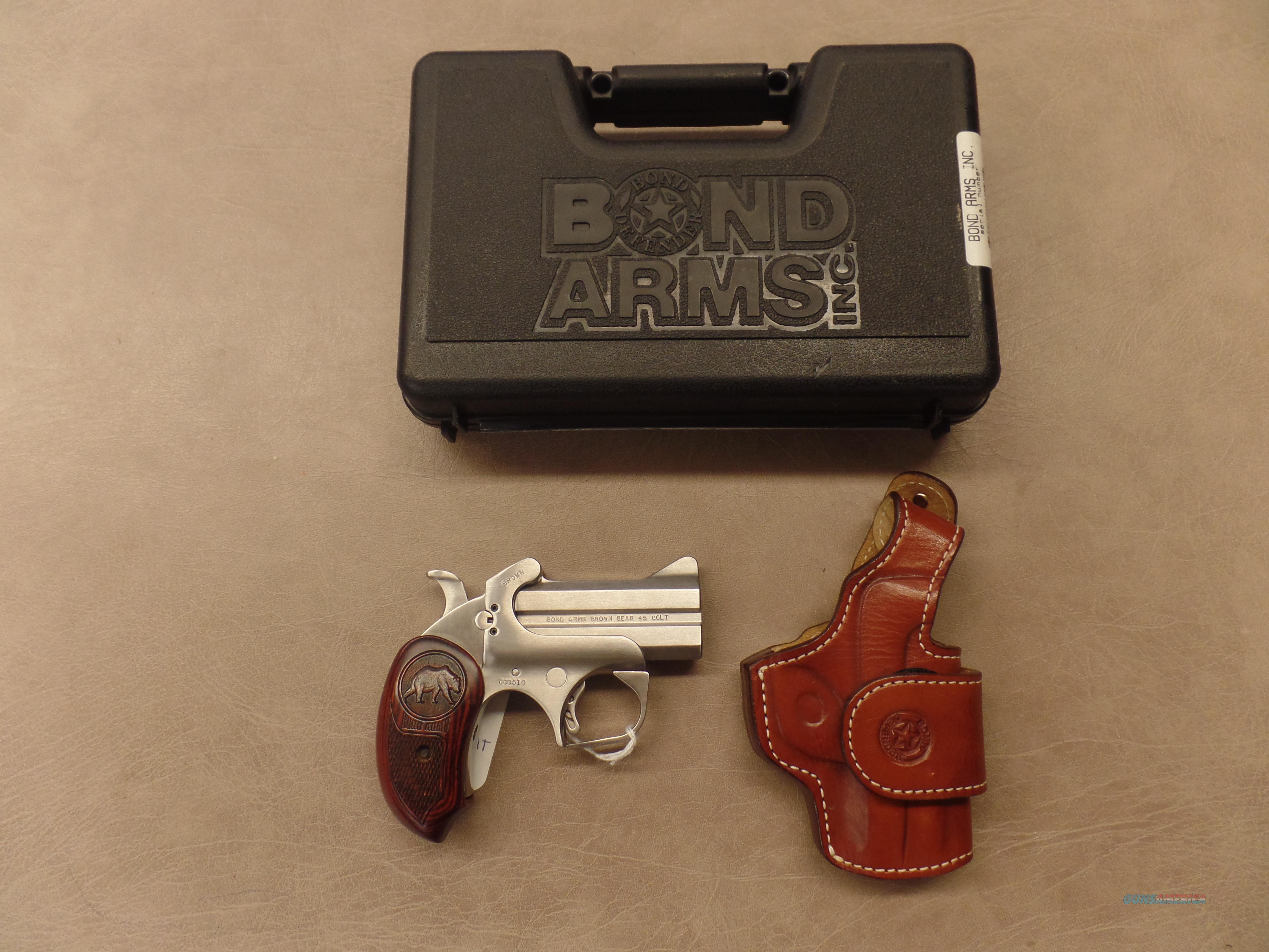 Bond Arms Brown Bear--.45 Colt  Guns > Pistols > Bond Derringers