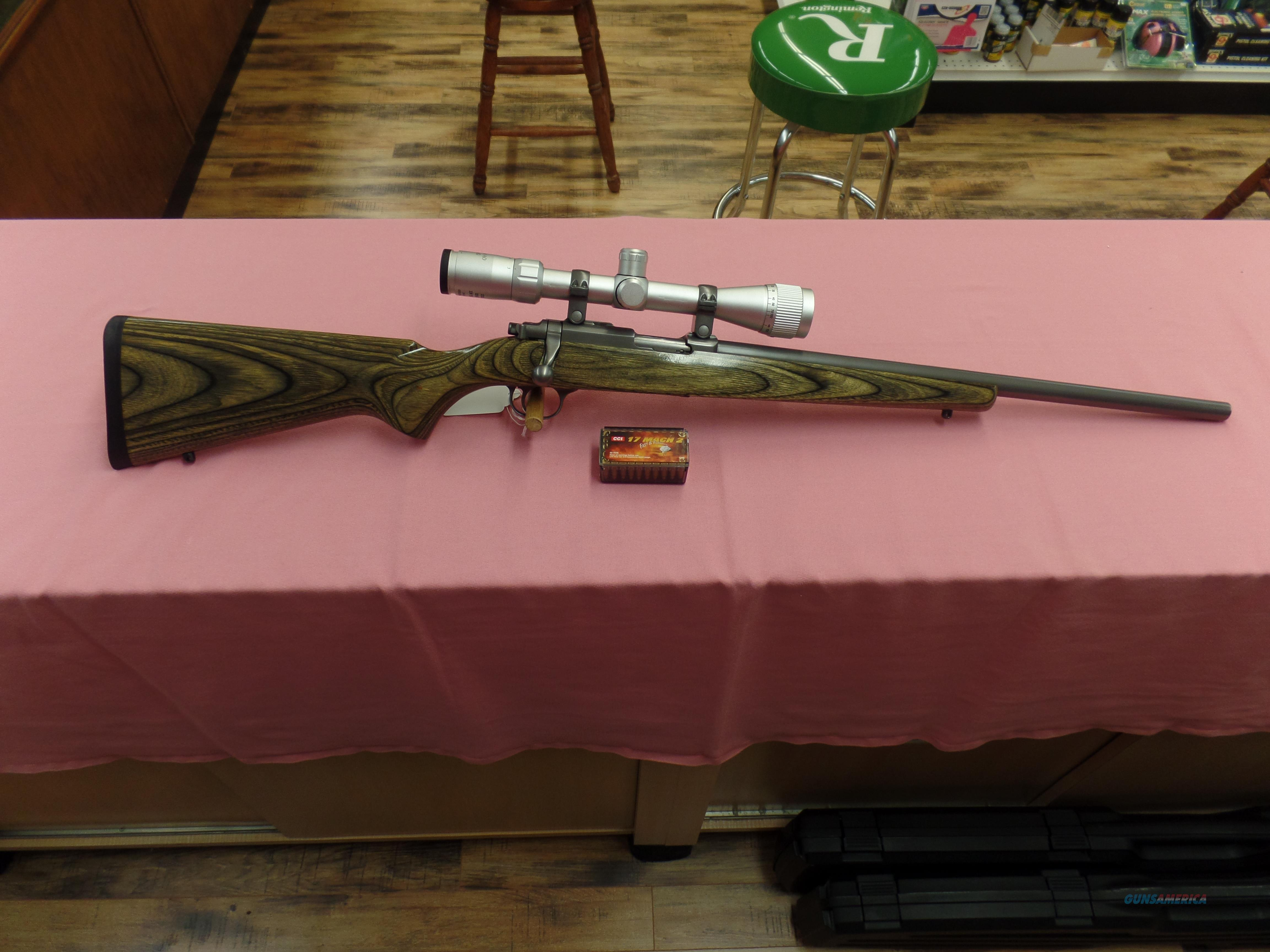 Ruger M77-17 -- 17 mach 2  Guns > Rifles > Ruger Rifles > Model 77