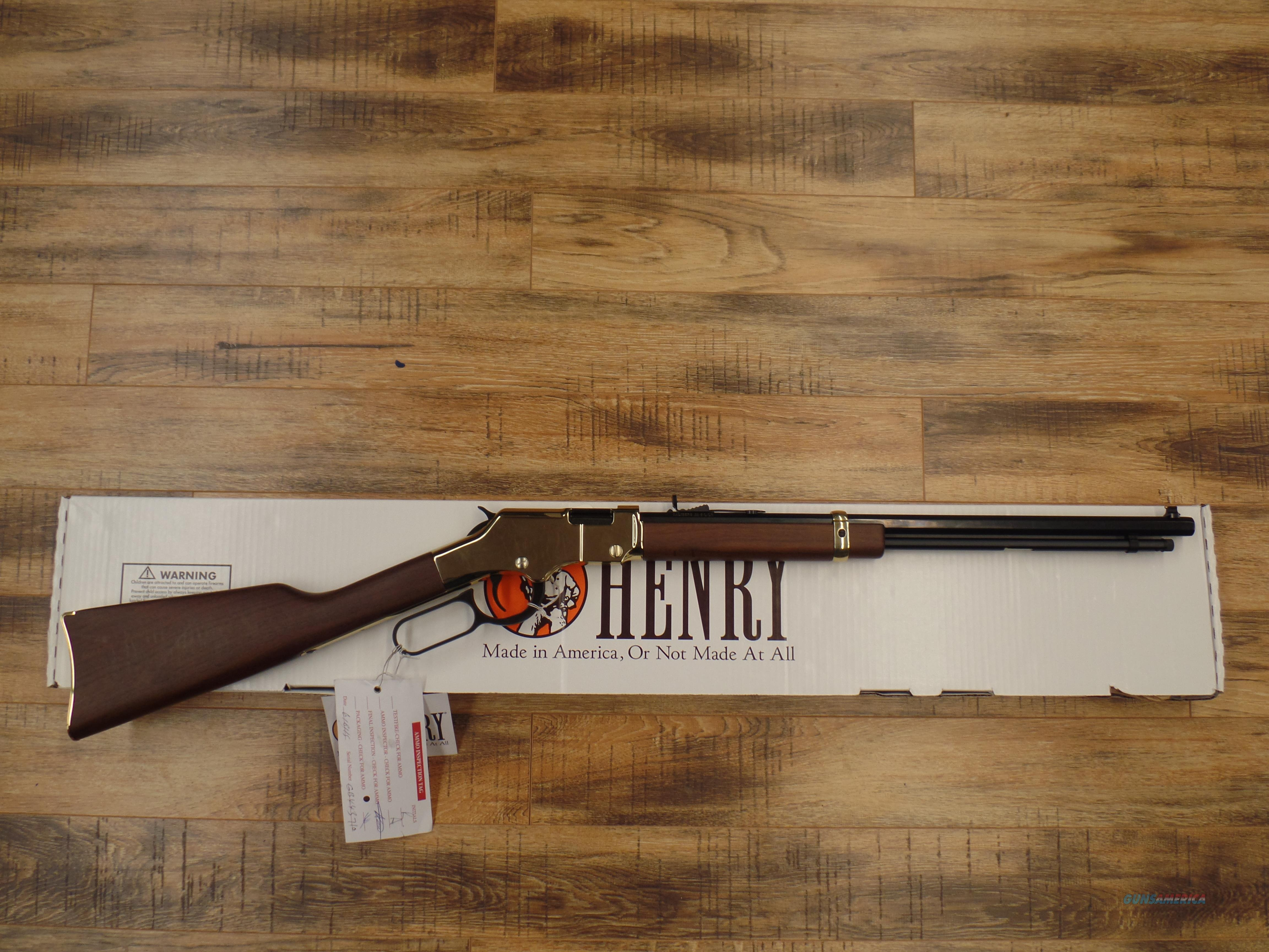 Henry Golden Boy (22 LR)  Guns > Rifles > Henry Rifle Company