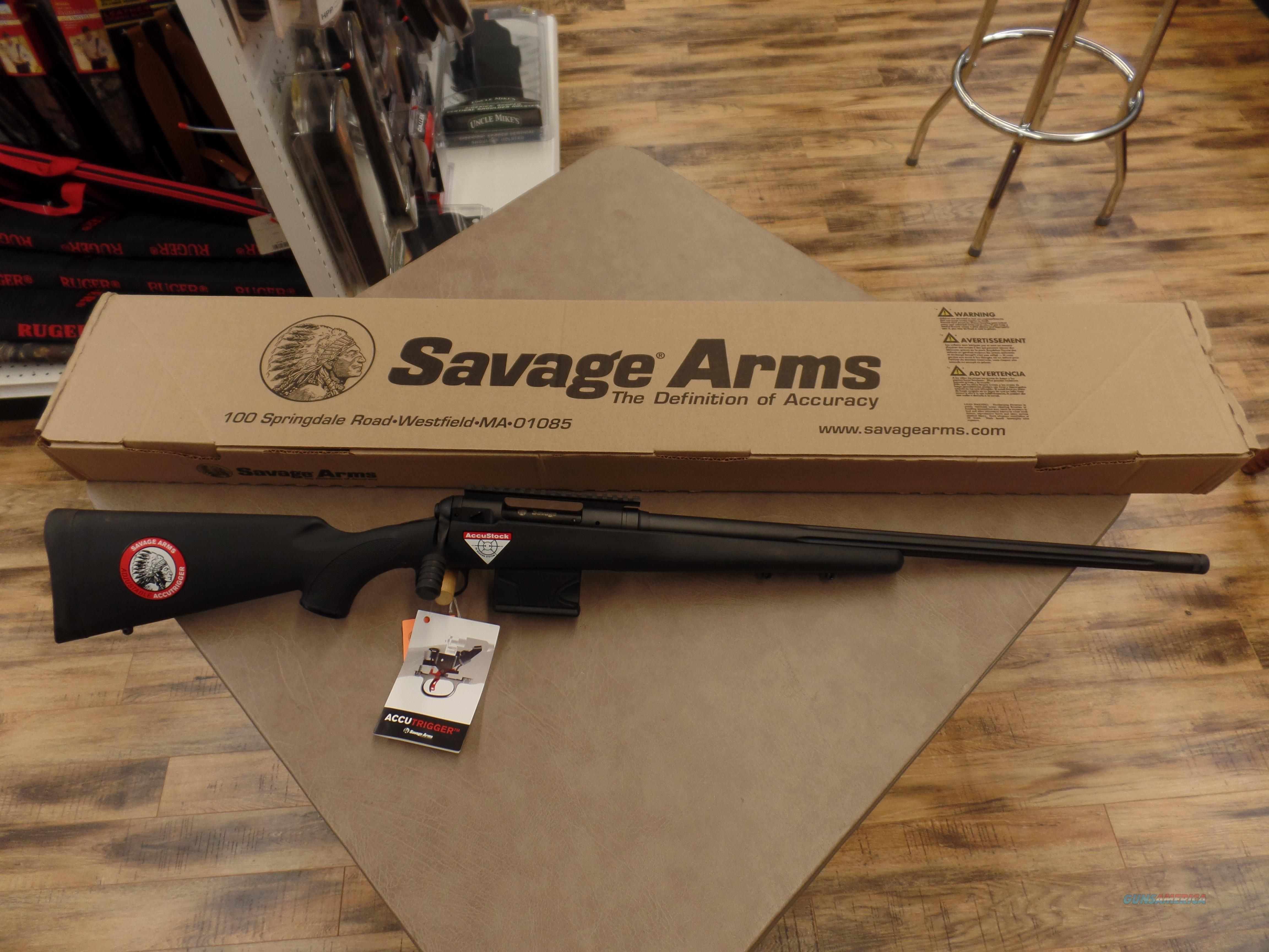 Savage Model 110FCP-SR  Guns > Rifles > Savage Rifles > Accutrigger Models > Sporting