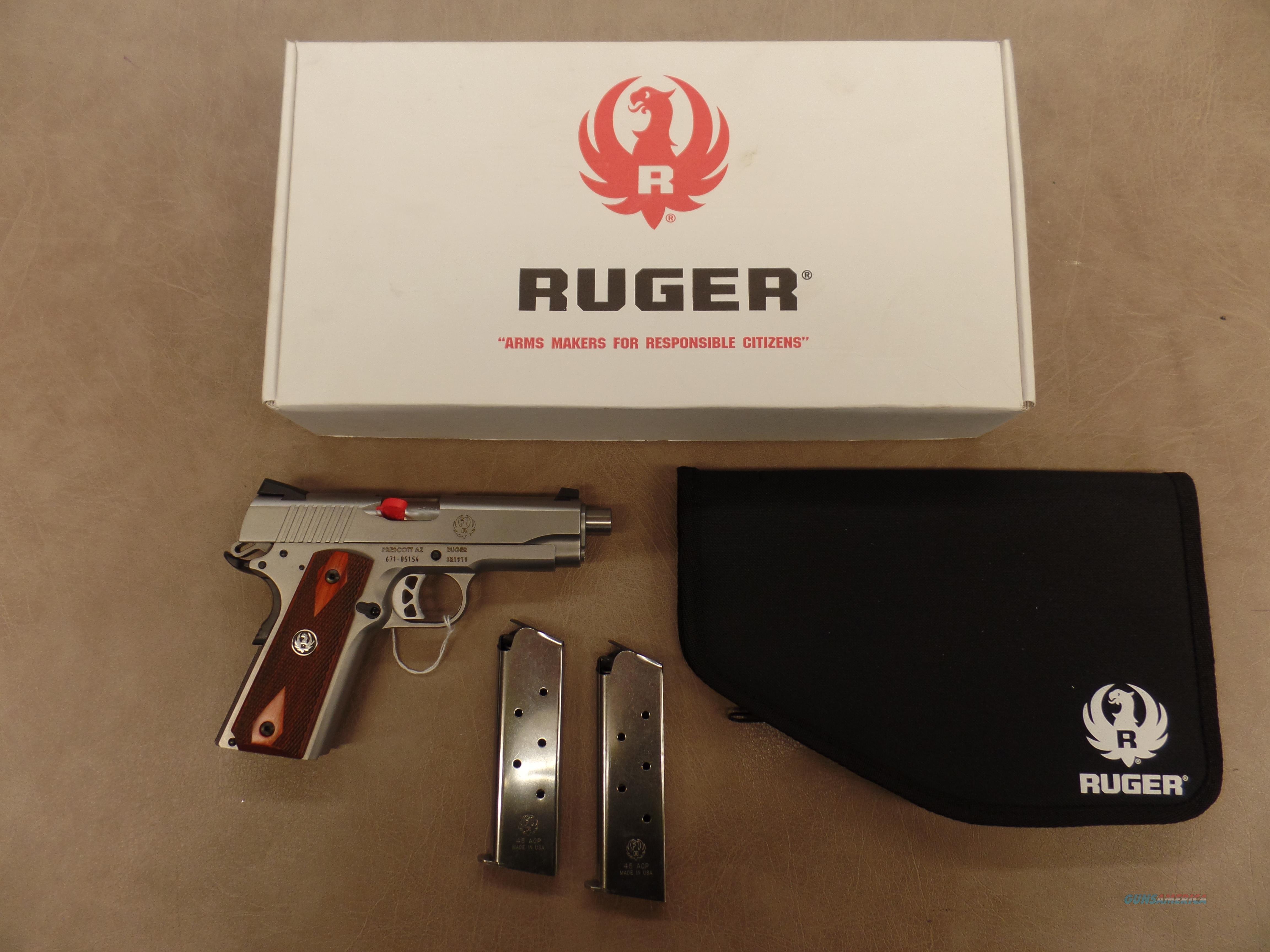 Ruger SR-1911 CMD  Guns > Pistols > Ruger Semi-Auto Pistols > 1911