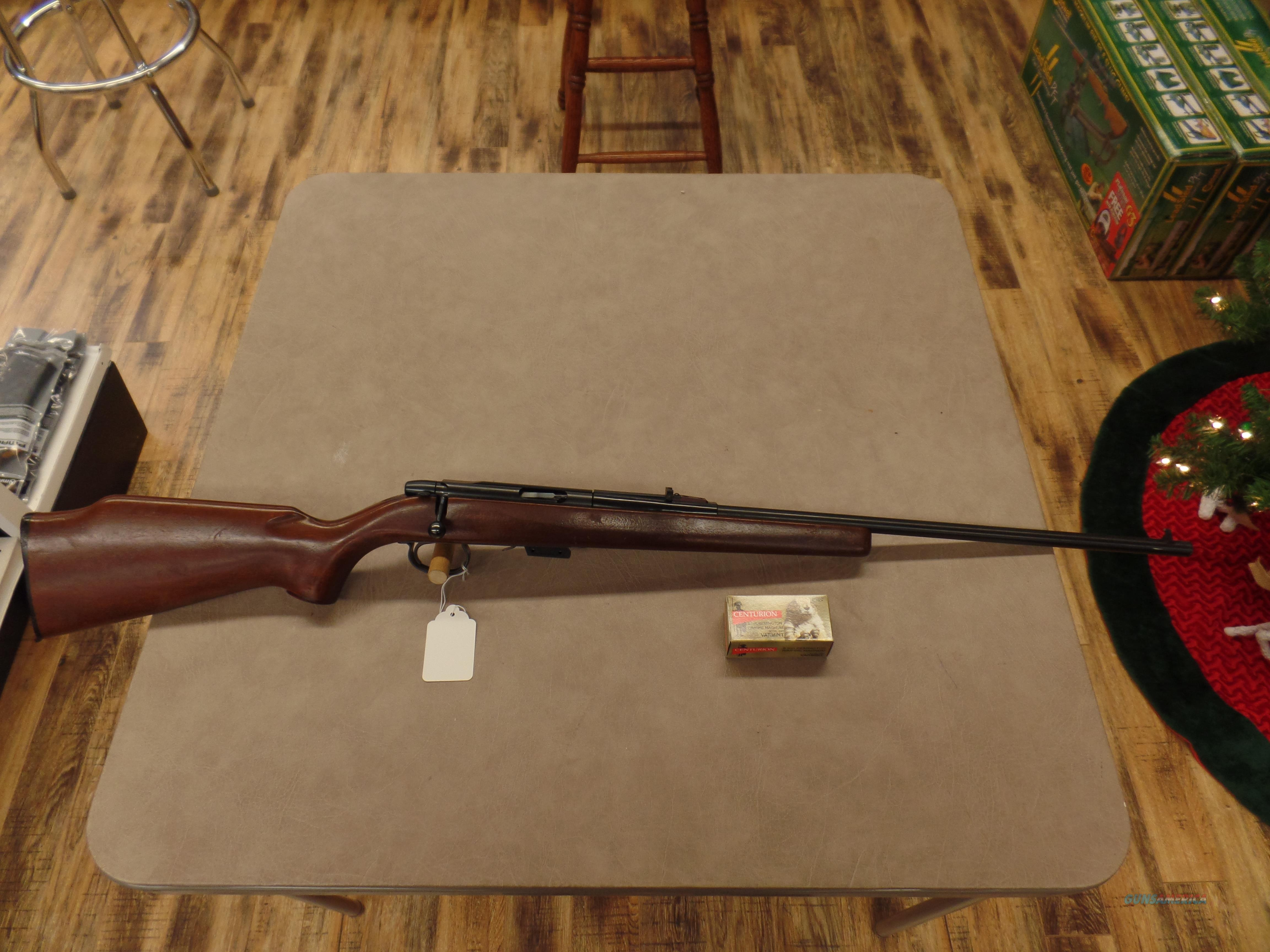 Remington Model 591 With Correct Clip And 1 Box Of Shells (5MM Cal)  Guns > Rifles > Remington Rifles - Modern > Bolt Action Non-Model 700 > Sporting