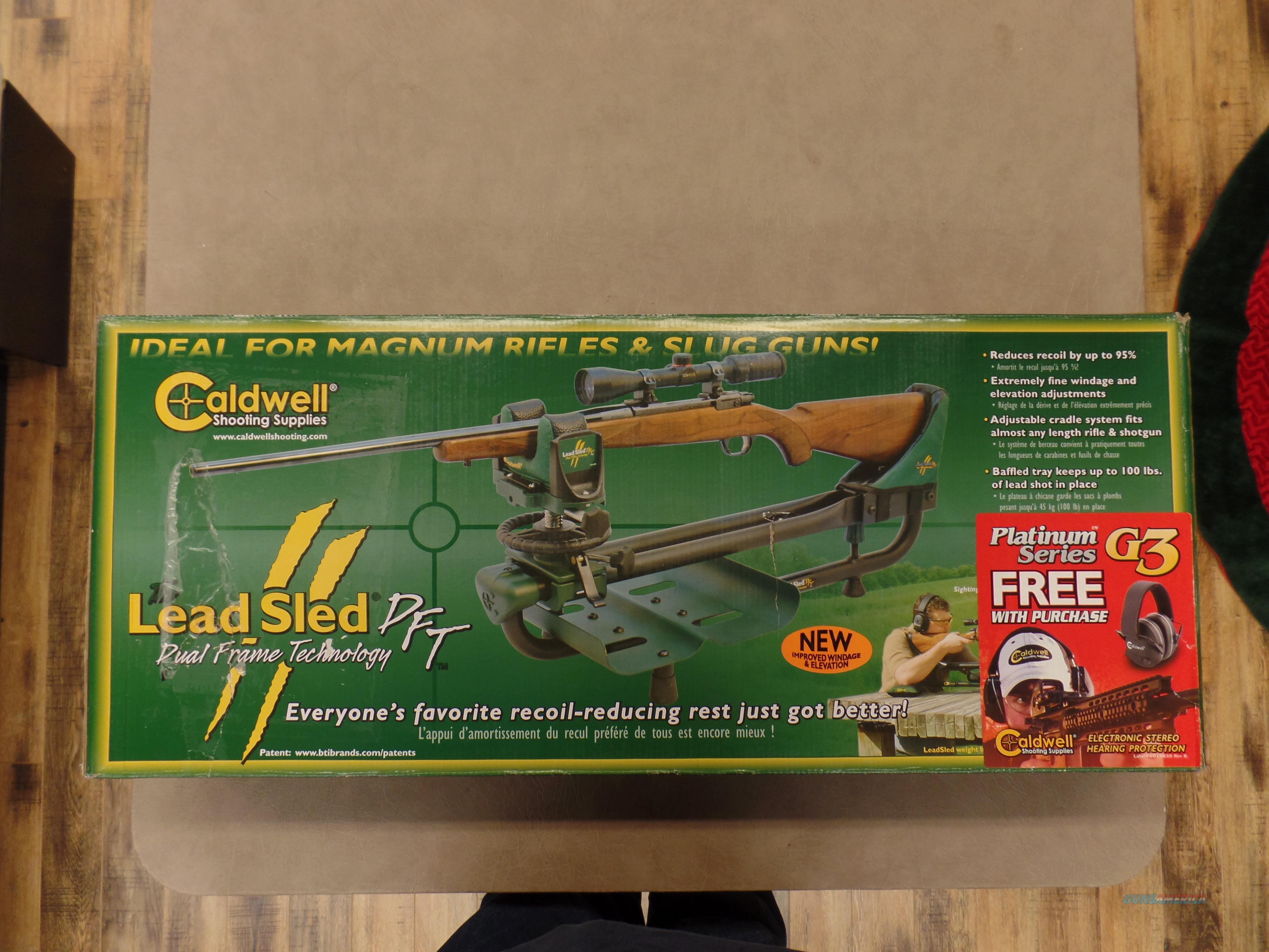 Caldwell Lead Sled Shooting Rest And G3 Electronic Stereo Hearing Protection   Non-Guns > Gunsmith Tools/Supplies