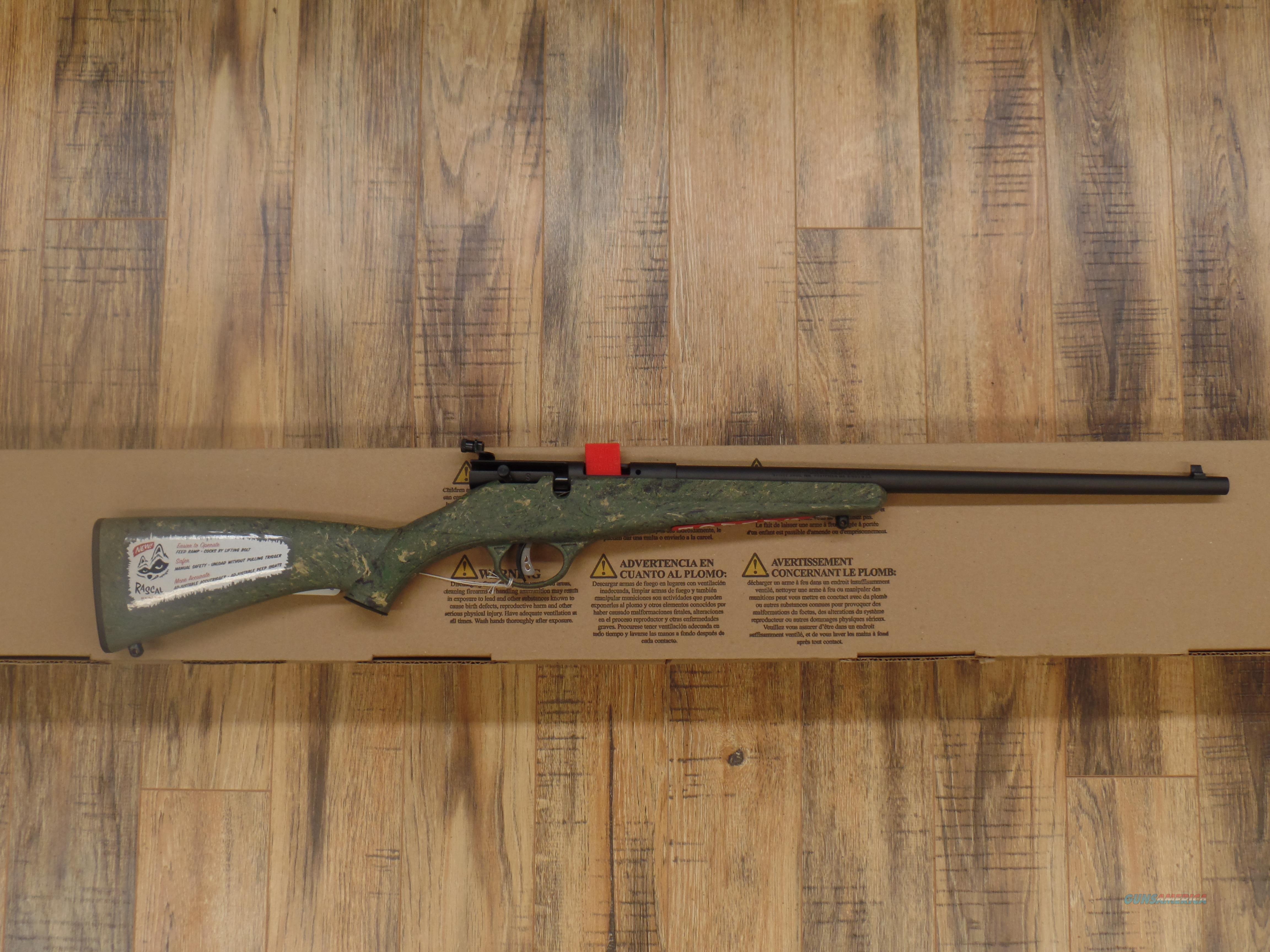 Savage Arms Rascal (22 LR)  Guns > Rifles > Savage Rifles > Accutrigger Models > Sporting