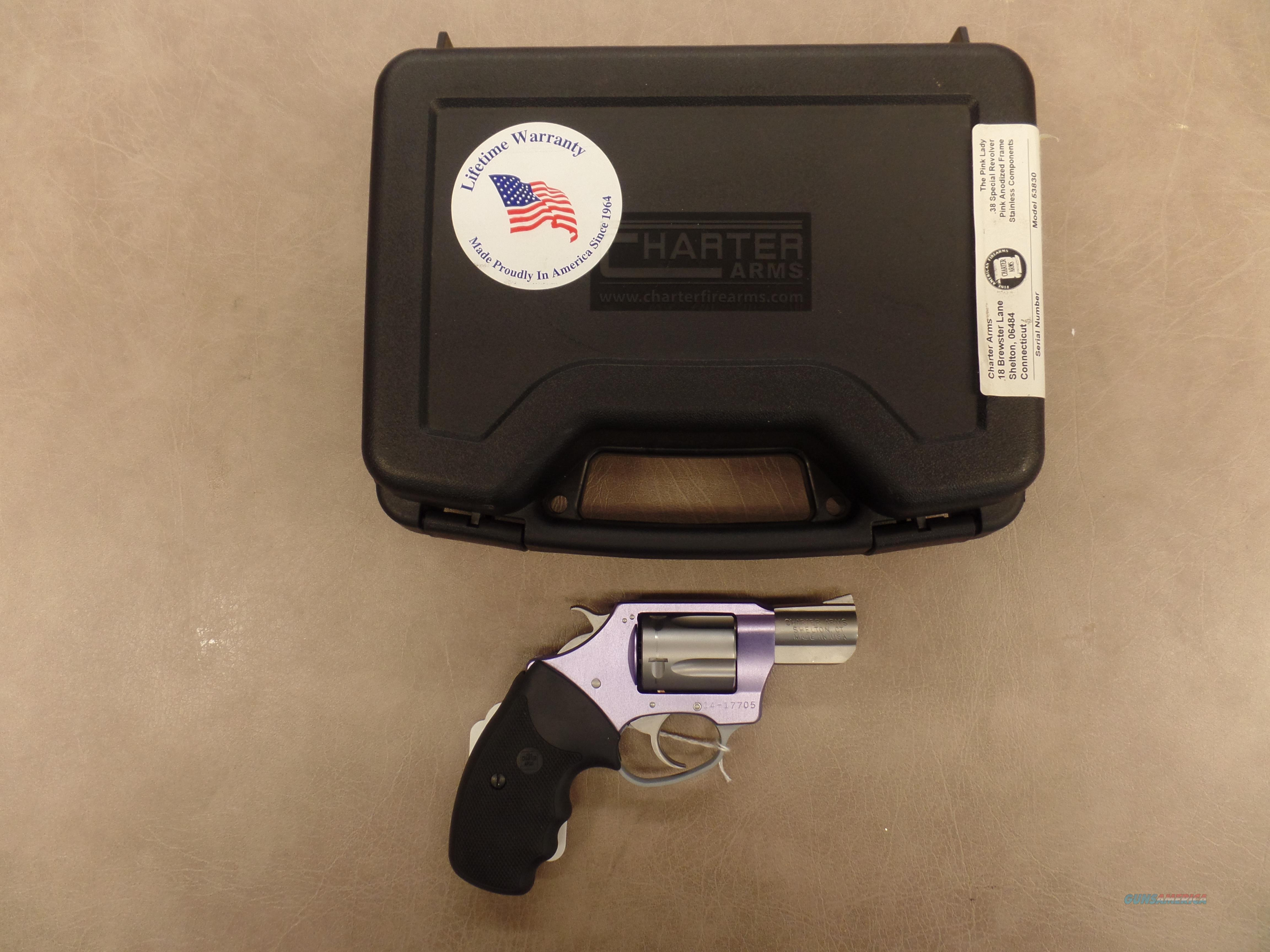 Charter Arms Under Cover Lavender Lady (22 Mag)  Guns > Pistols > Charter Arms Revolvers