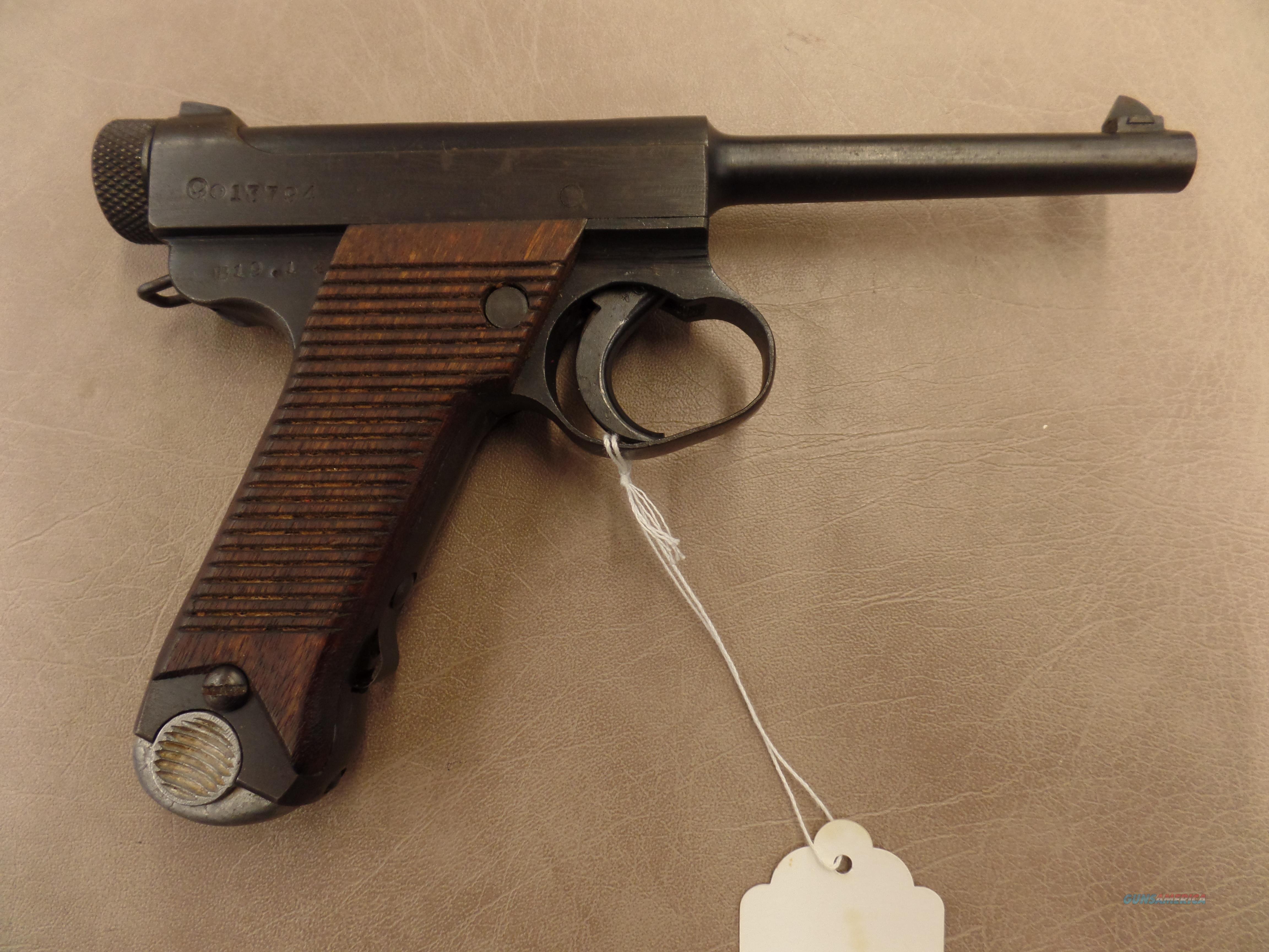WWII Japinese Nambo LIKE NEW  Guns > Pistols > Military Misc. Pistols Non-US