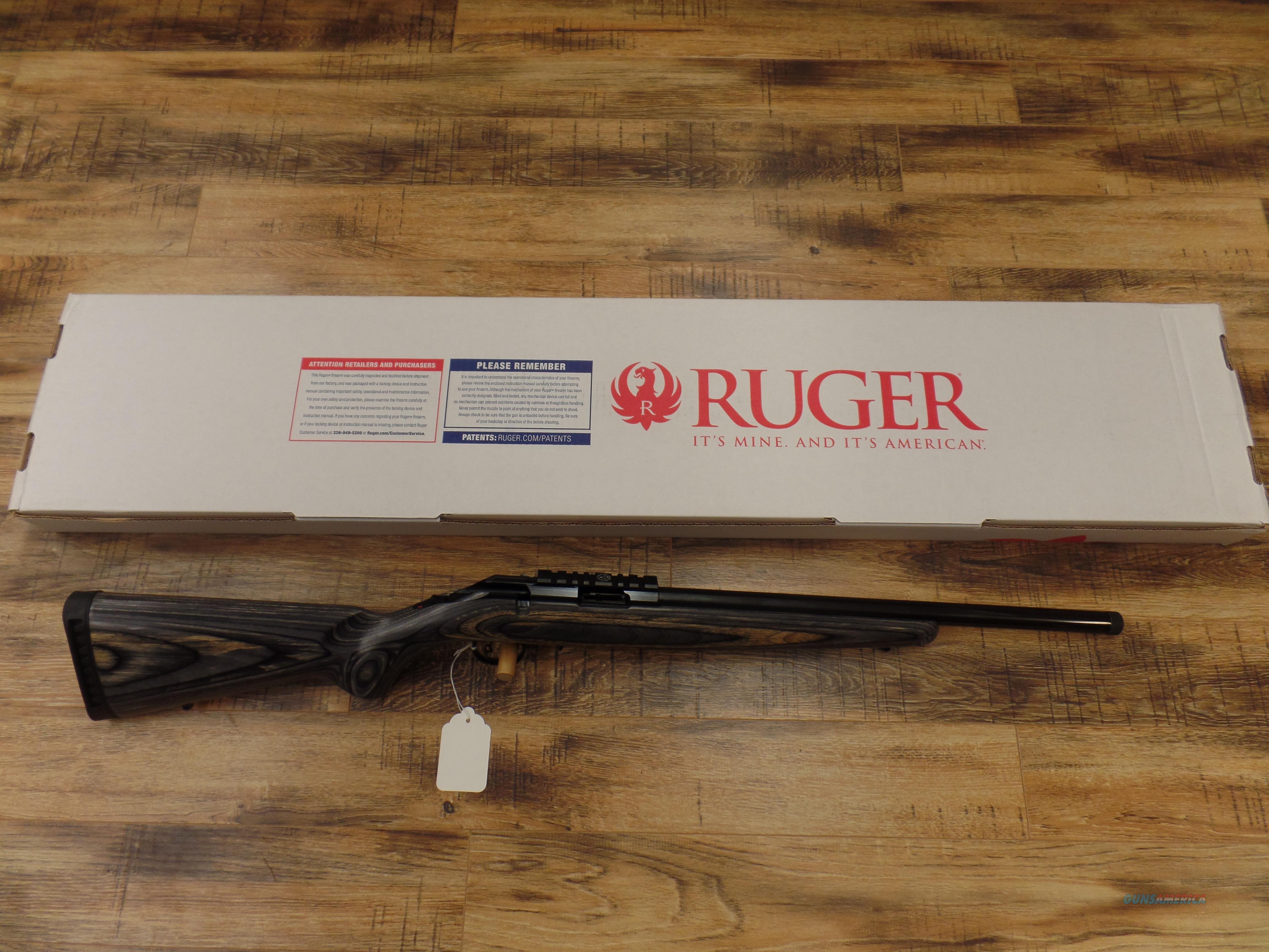 Ruger American (17 HMR) Target Threaded Barrel  Guns > Rifles > Ruger Rifles > American Rifle