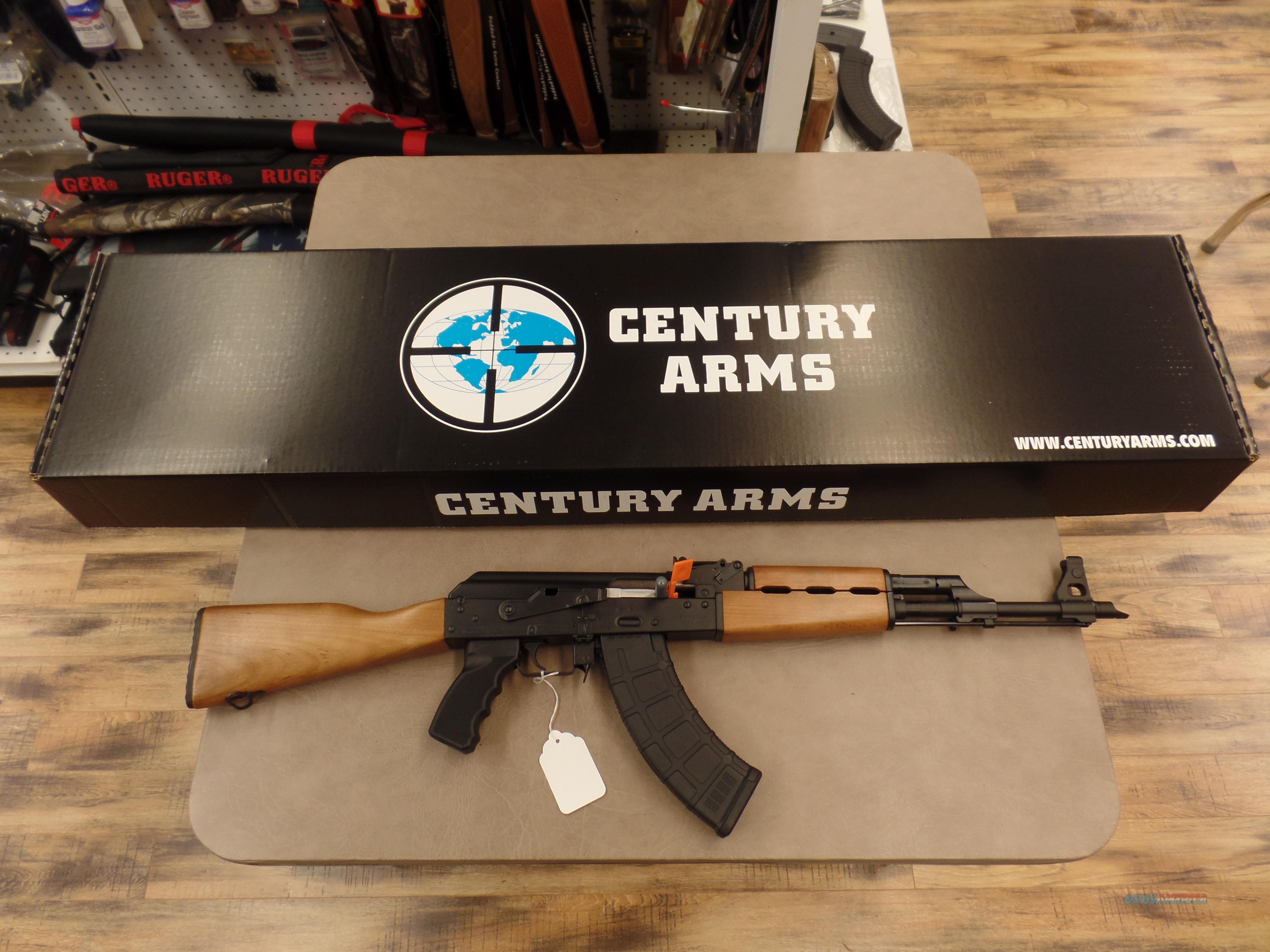 Century Arms AK-47 Milled Receiver With Scope Rail  Guns > Rifles > Century International Arms - Rifles > Rifles