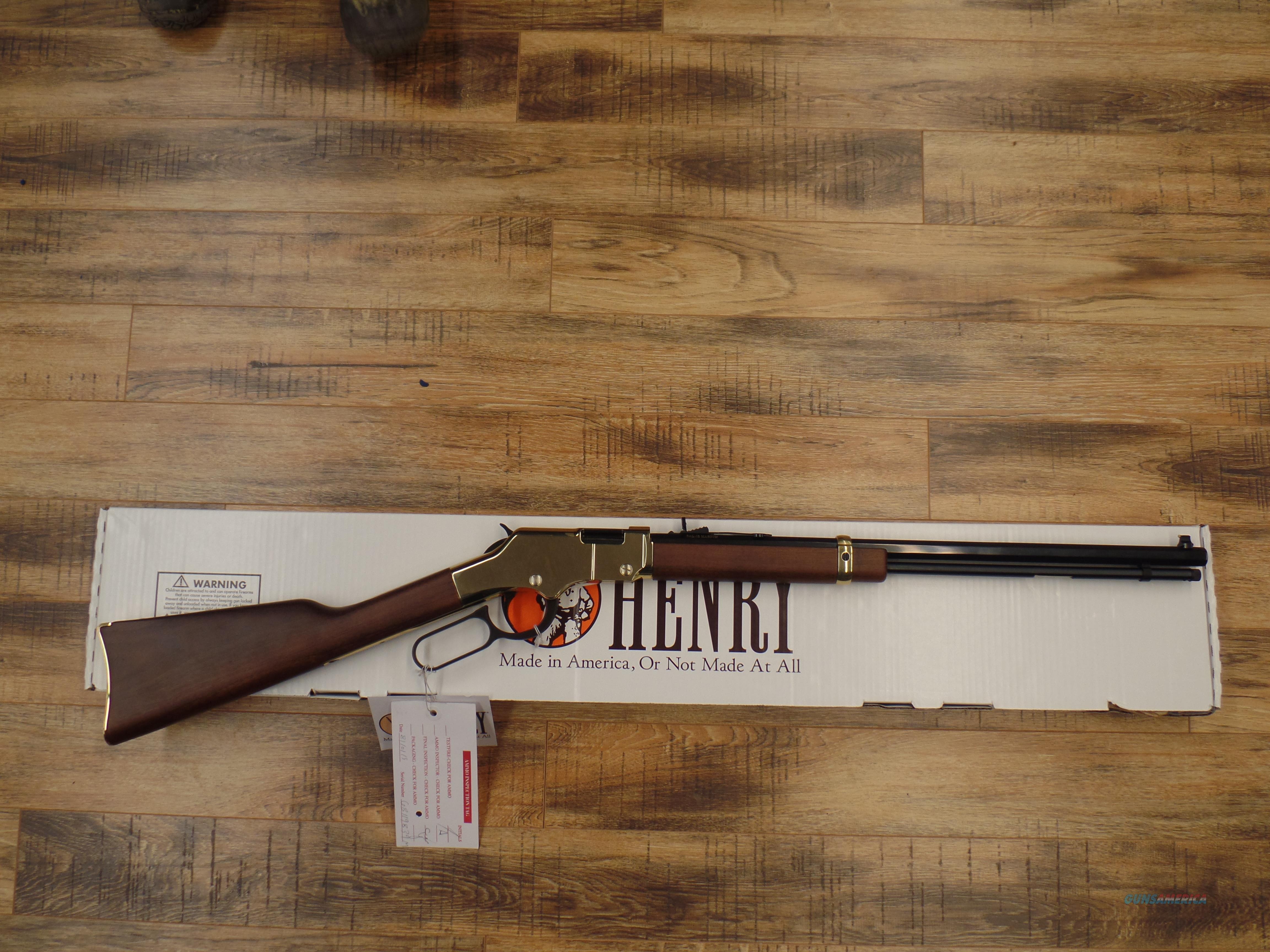 Henry Golden Boy (22 MAG)  Guns > Rifles > Henry Rifle Company
