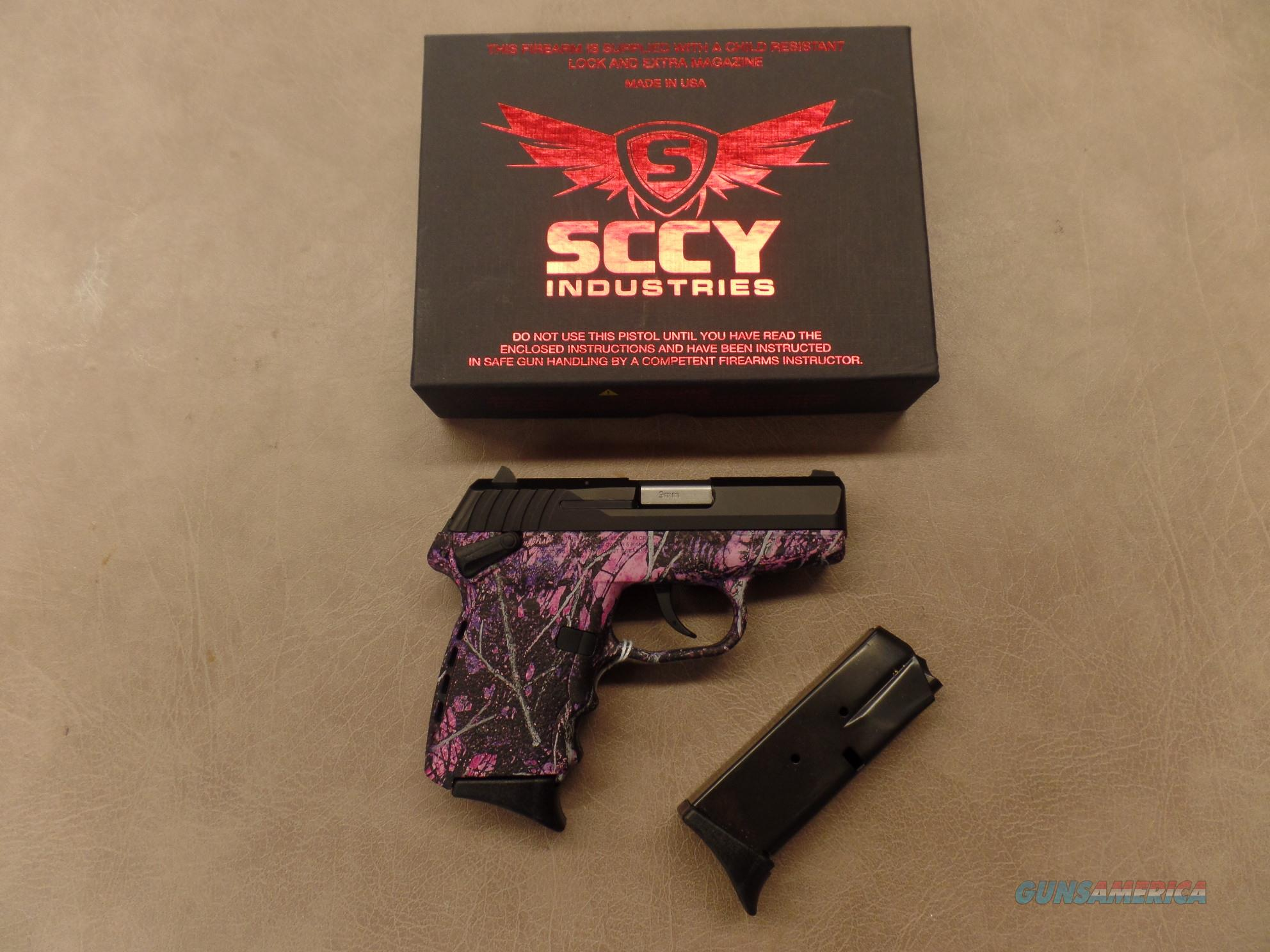 SCCY Industries Model CPX1CBMG Muddy Girl Compact (9MM)  Guns > Pistols > SCCY Pistols > CPX1