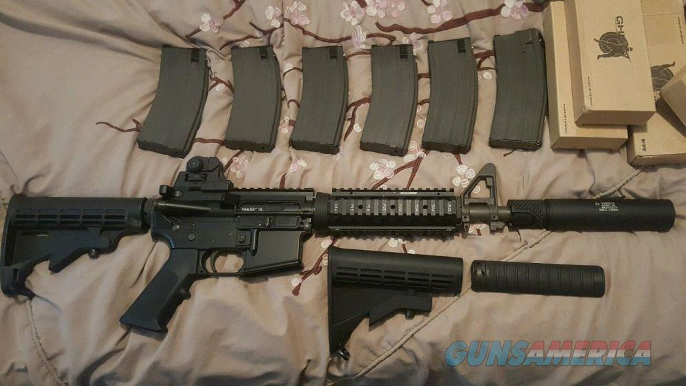 GHK M4 10.5 GAS BLOW BACK RIFLE PACKAGE DEAL  Non-Guns > AirSoft > Rifles