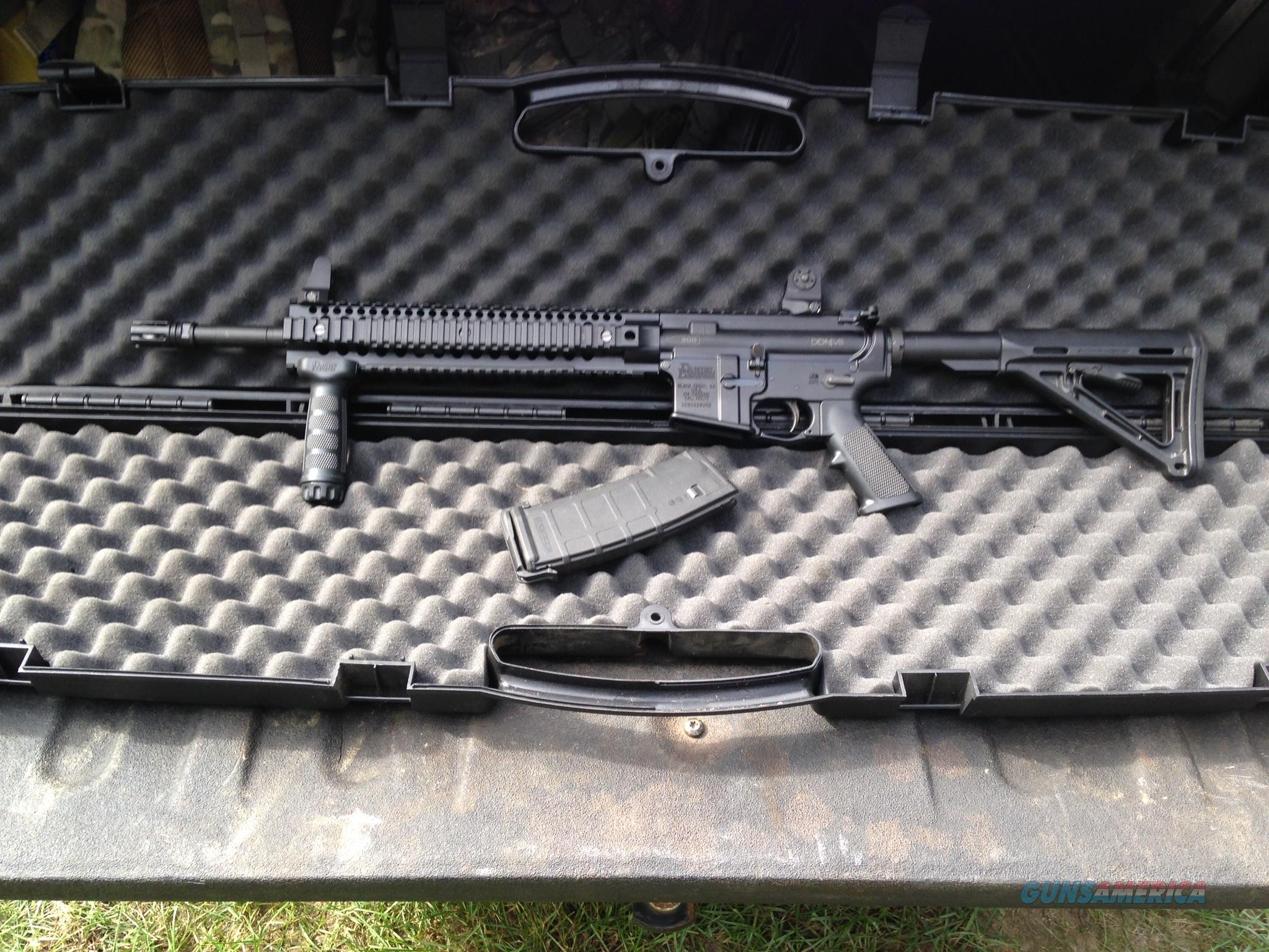 rare find, almost brand new daniel defense 300blkout  Guns > Rifles > Daniel Defense > Complete Rifles