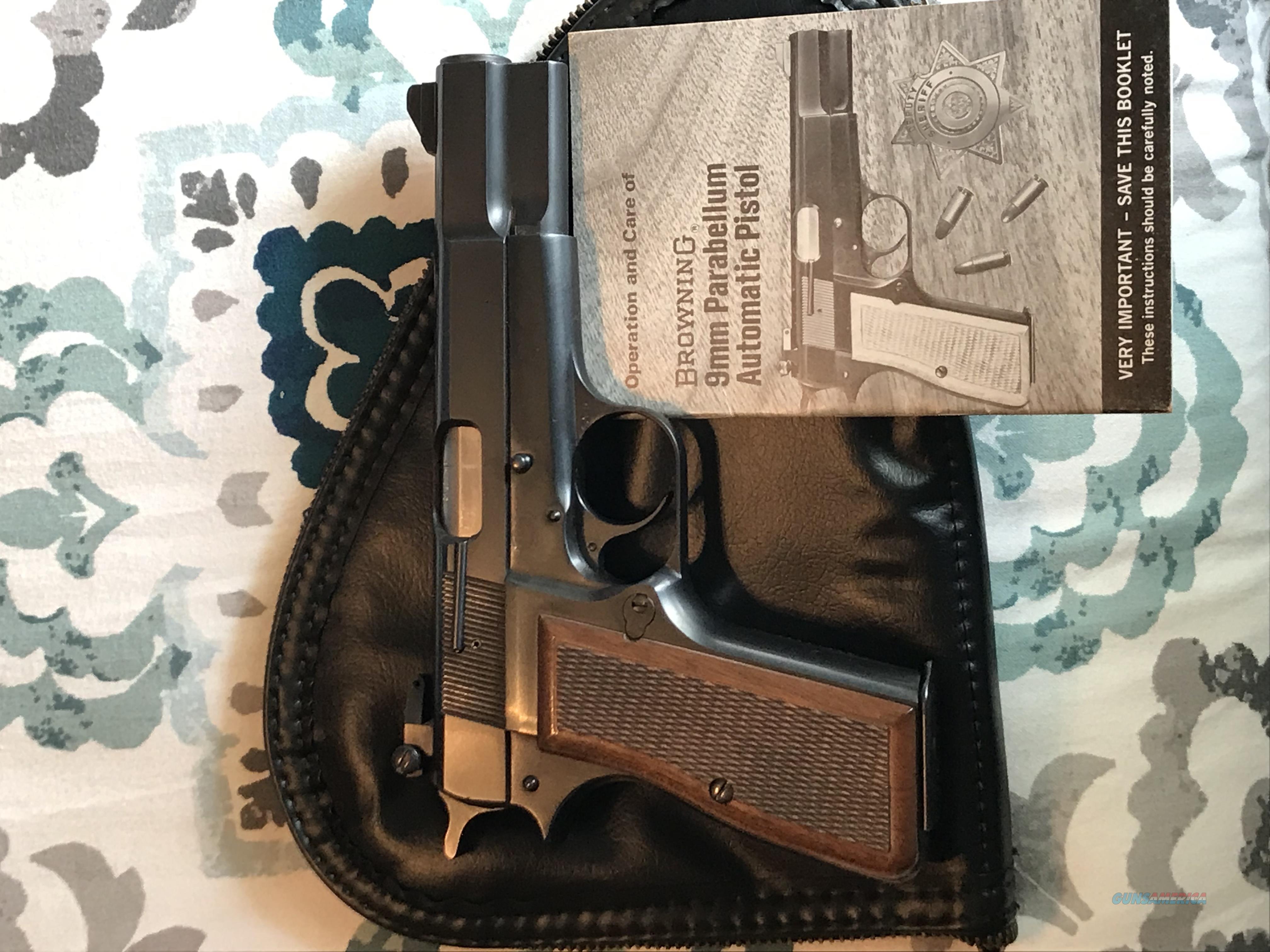 1976 Browning Belgium Hi-Power   Guns > Pistols > Browning Pistols > Hi Power