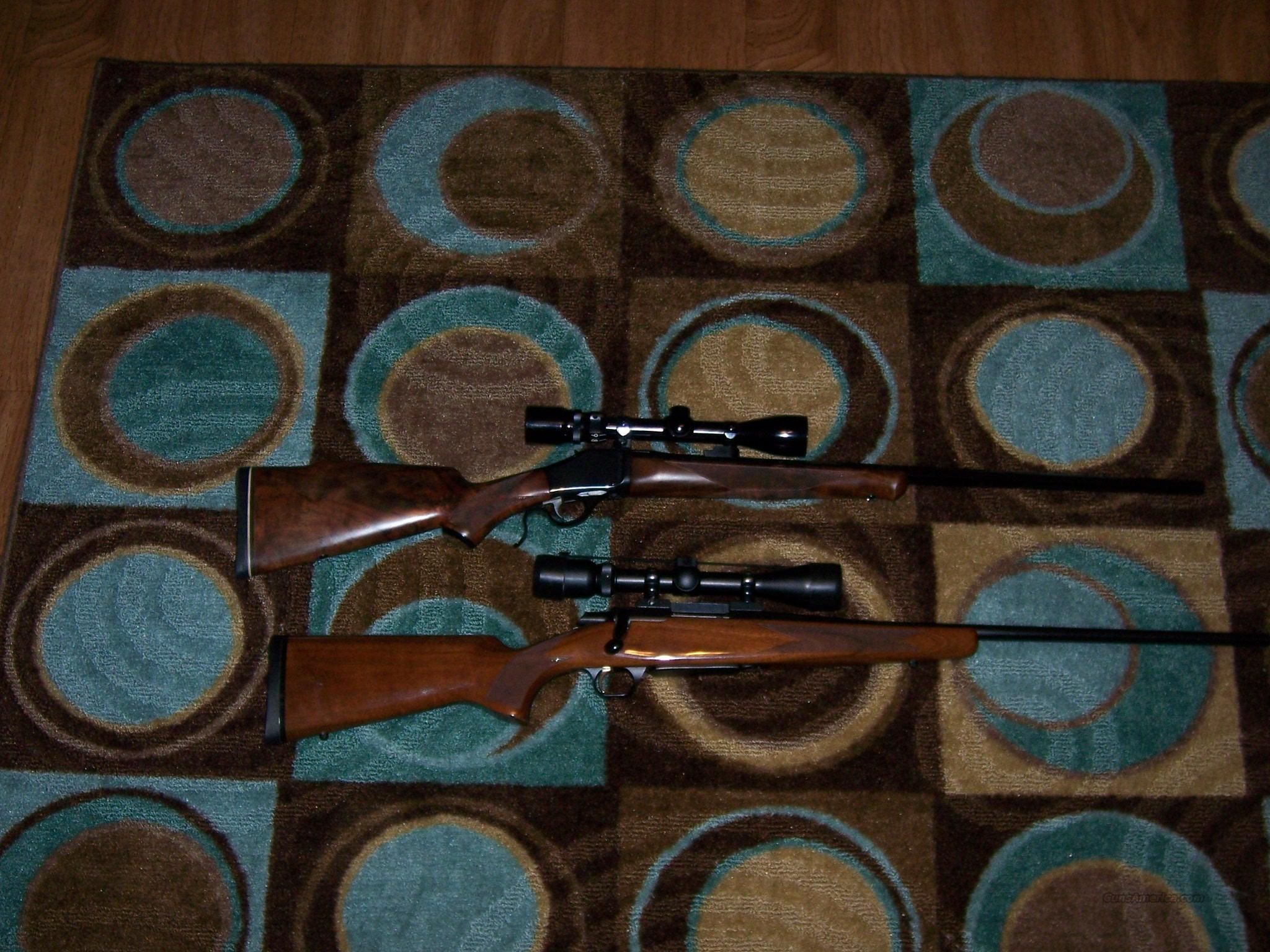 Browning B-78 6mm with scope and ammo  Guns > Rifles > Browning Rifles > Singe Shot