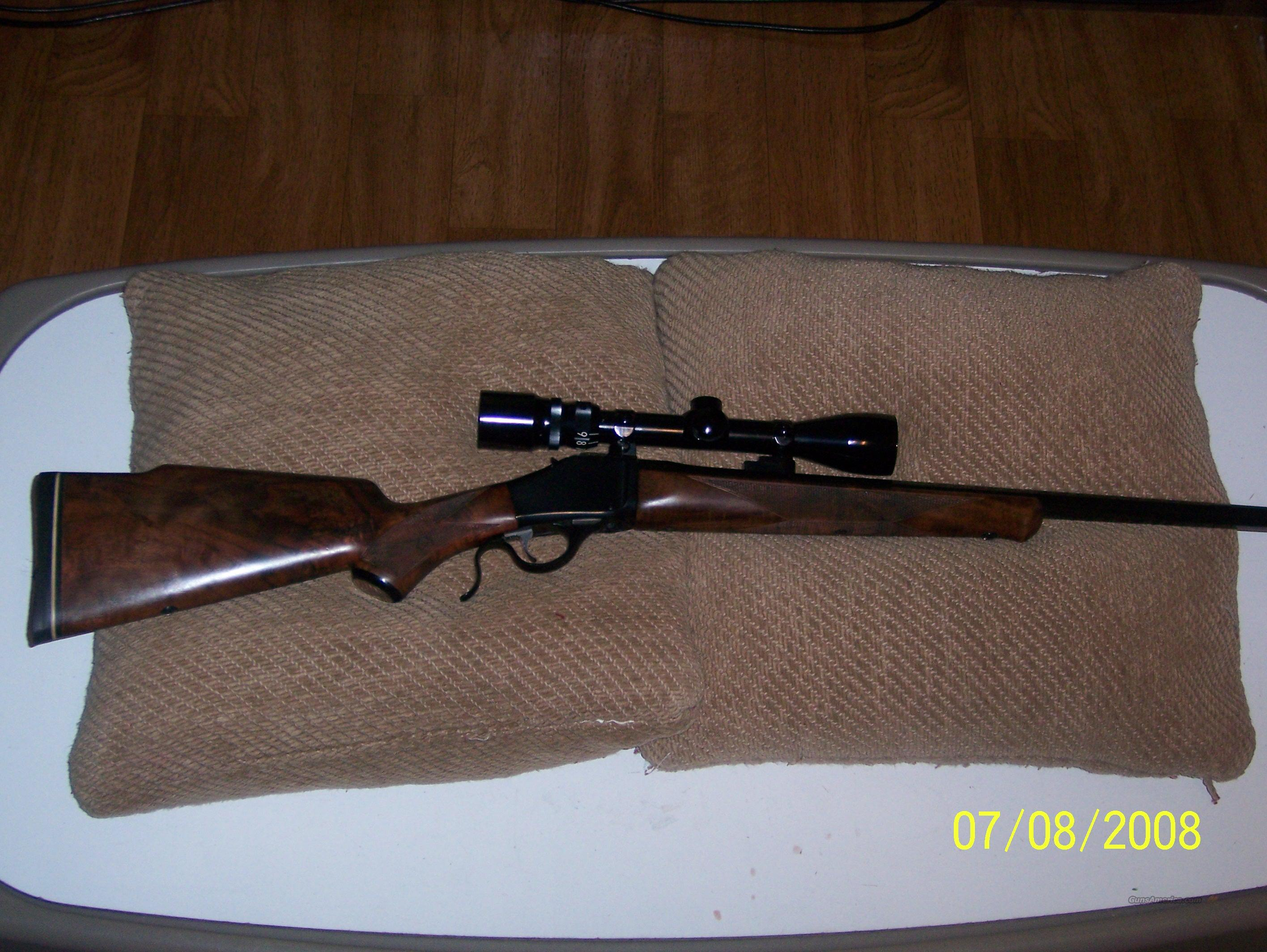 Browning Model B-78 in 6MM  Guns > Rifles > Browning Rifles > Singe Shot