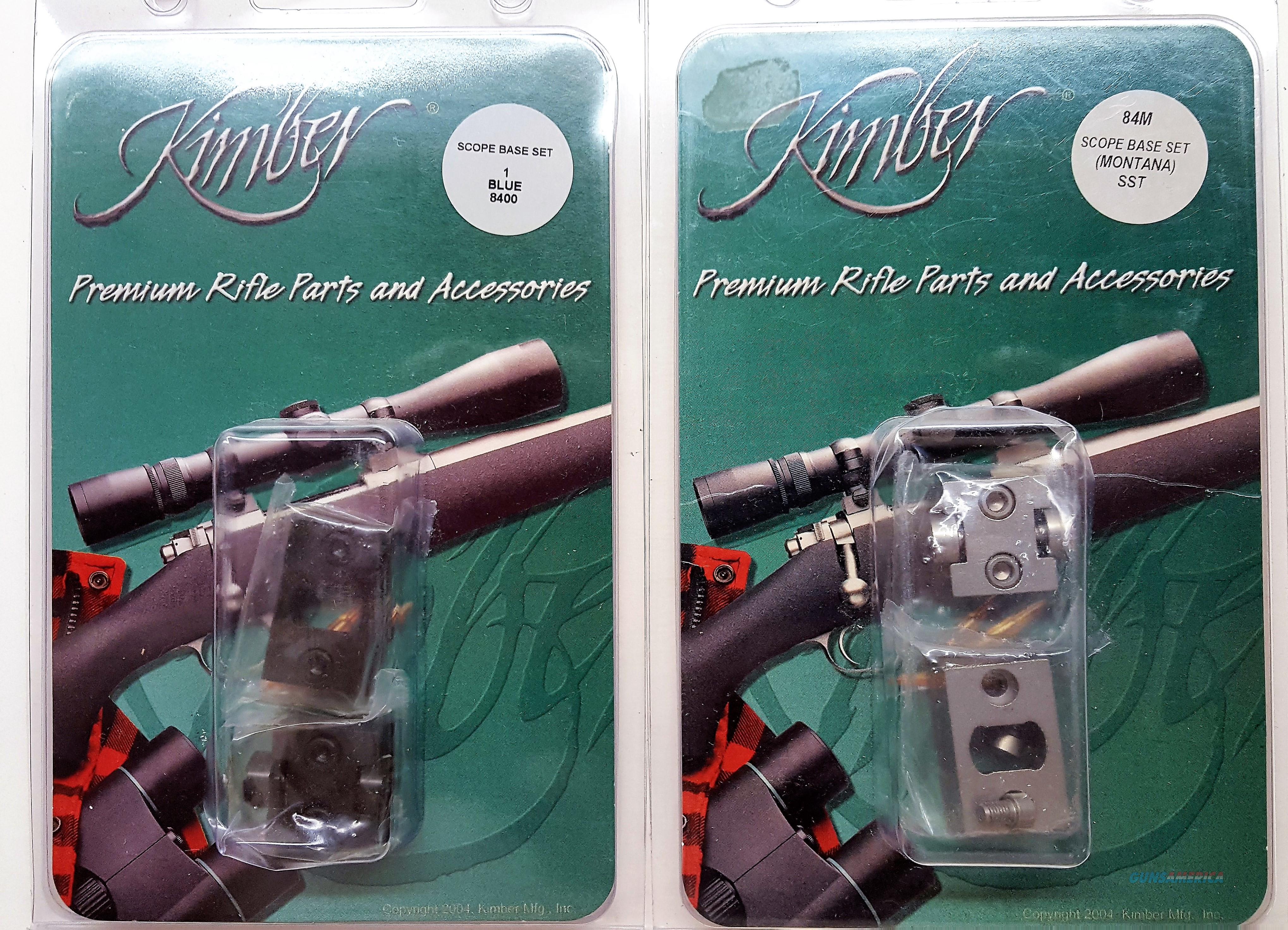 KIMBER BASE MOUNT CLOSEOUT 84M AND 8400 (POST 2004)  Non-Guns > Scopes/Mounts/Rings & Optics > Mounts > Other